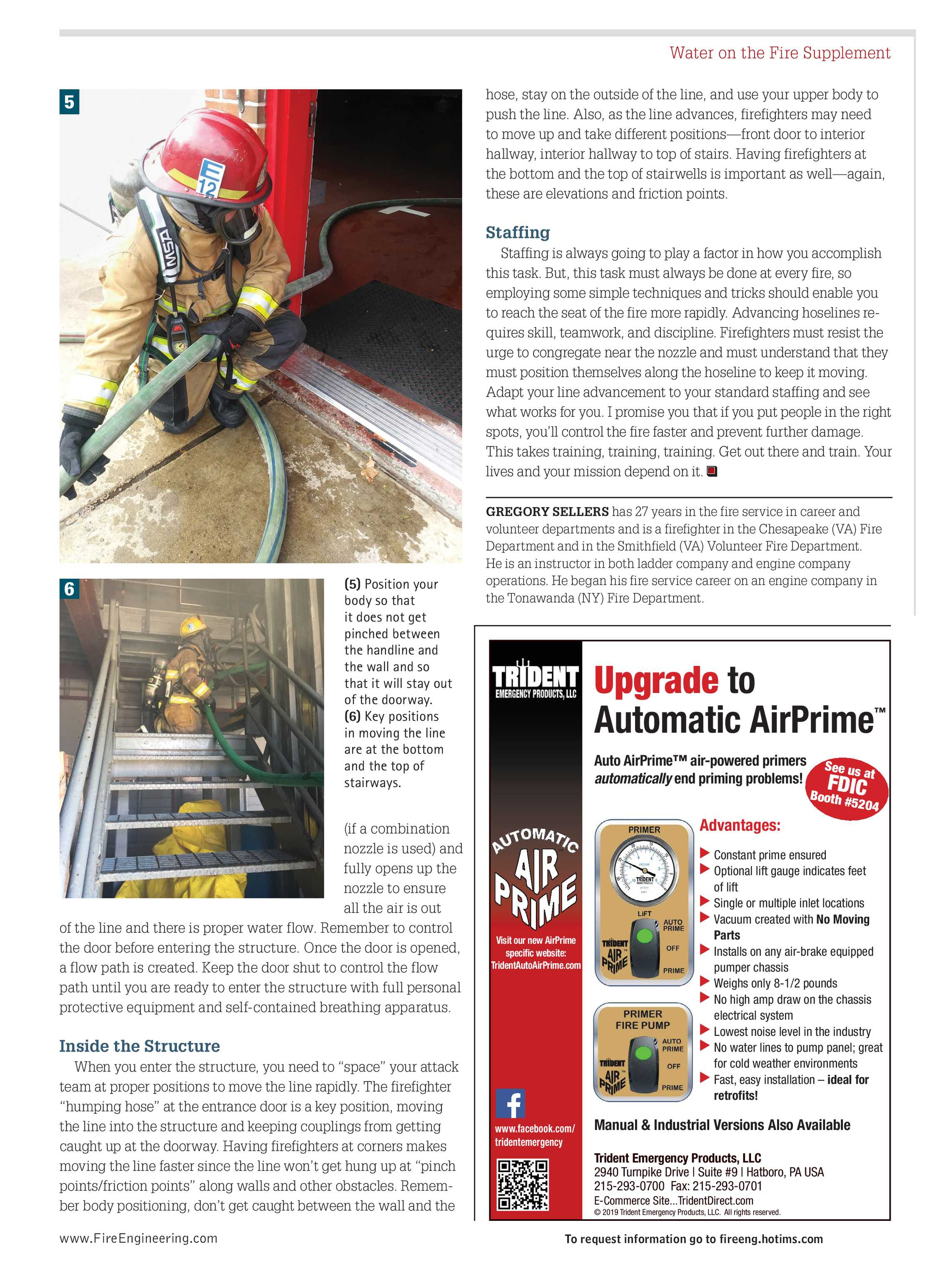 Pennwell Supplements - FE February 2019 Water on the Fire Supplement on