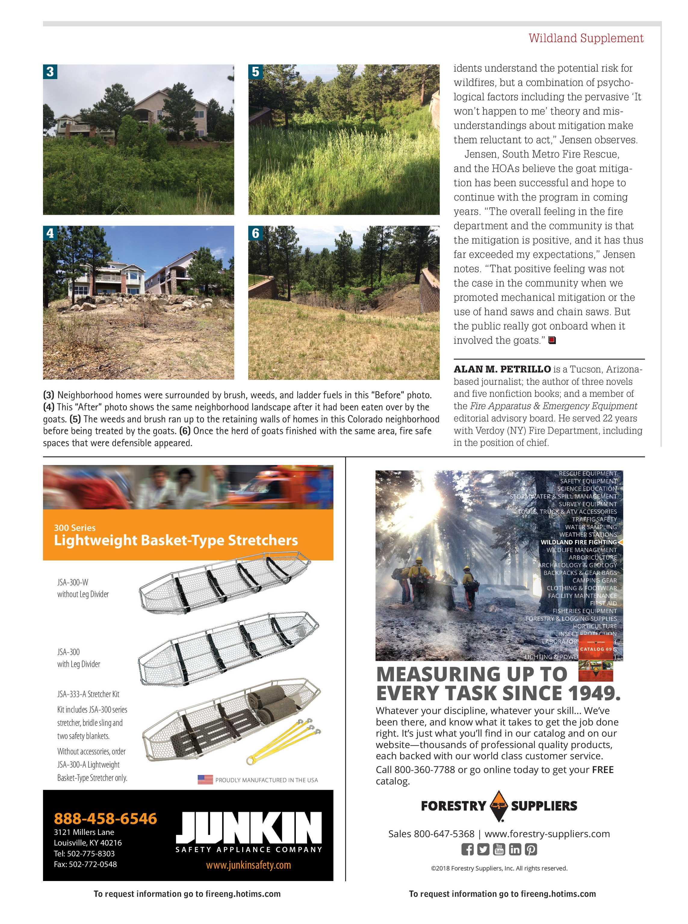Pennwell Supplements - FE August 2018 Wildland Supplement