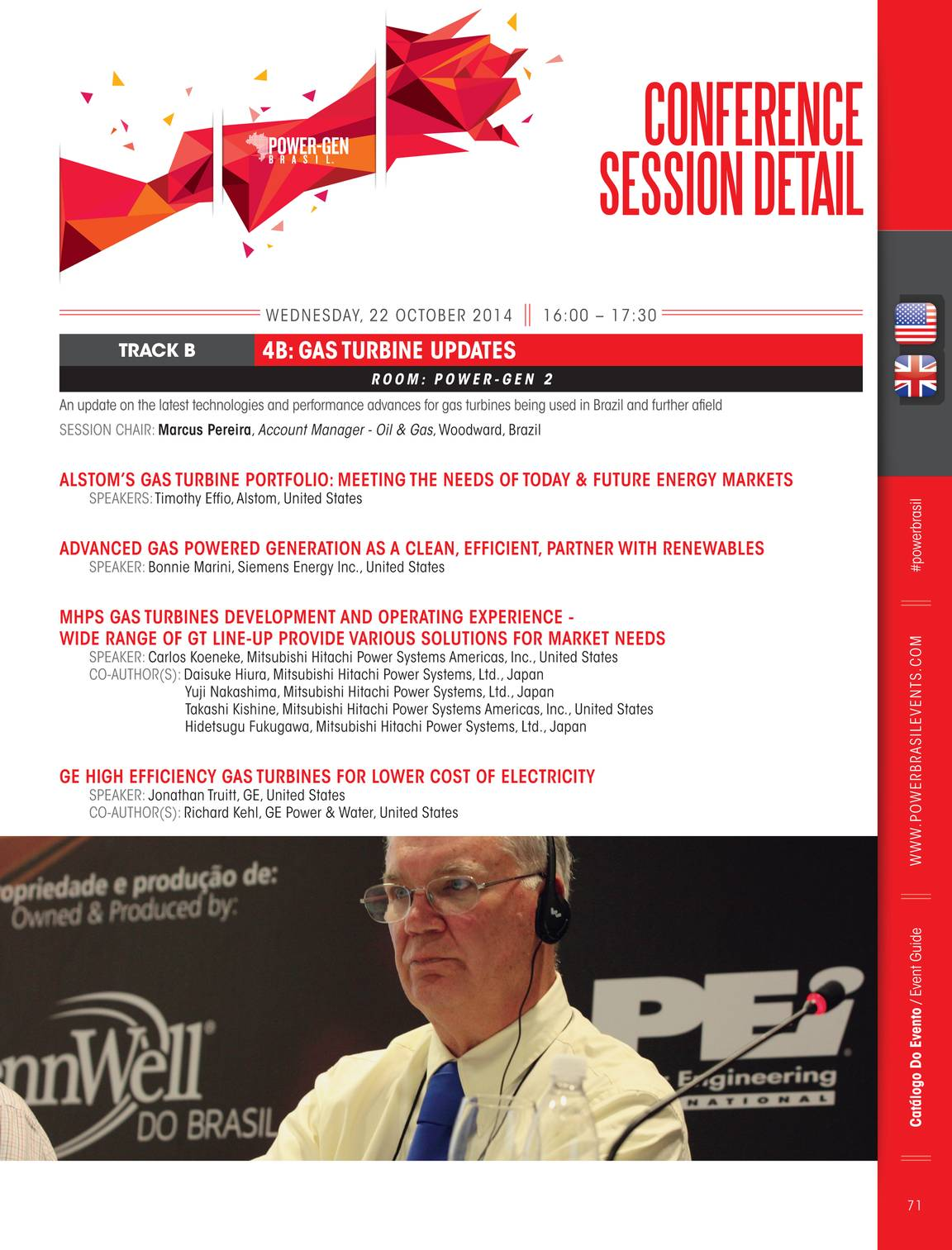 Pennwell Supplements Power Brasil Events 2014 Showguide Page 70 Line Up Mitsubishi Hitachi Systems Ltd Americas Brazil 71