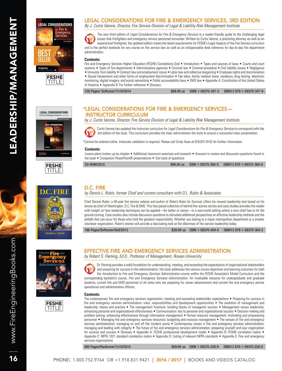 Pennwell Supplements - Spring 2016 Fire Catalog - page 17