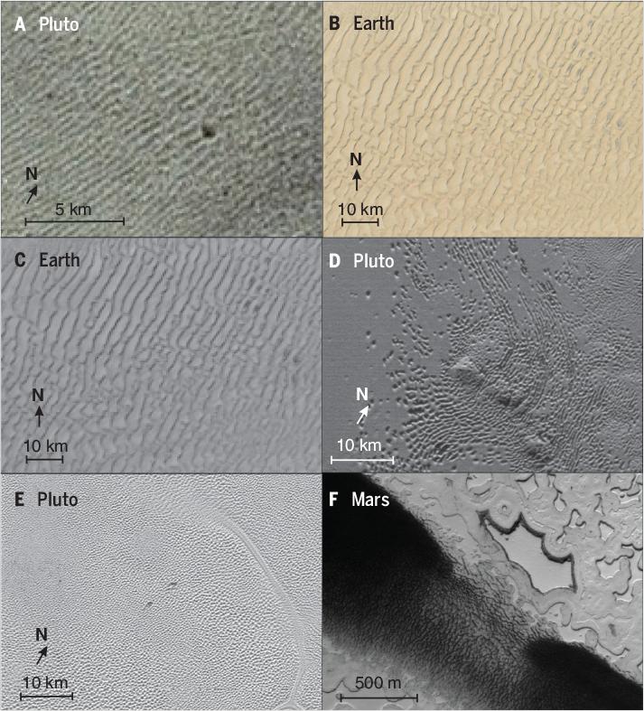 Science Magazine - June 1, 2018 - Dunes on Pluto