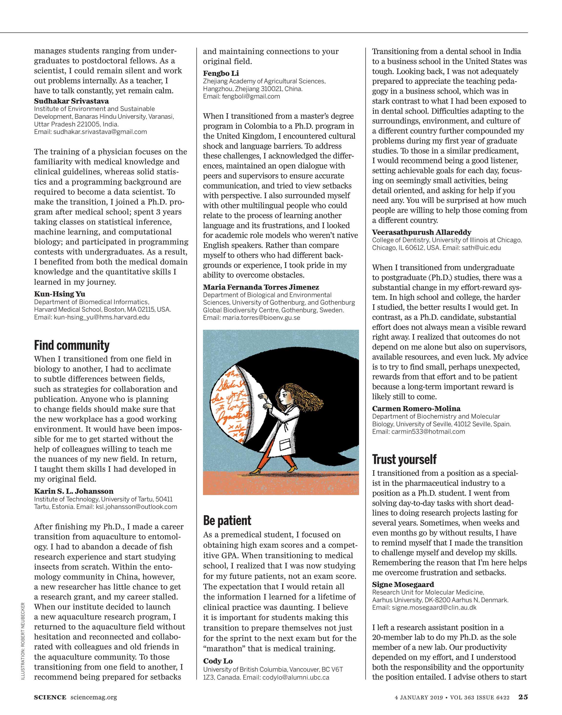 Science Magazine - January 4, 2019 - page 25