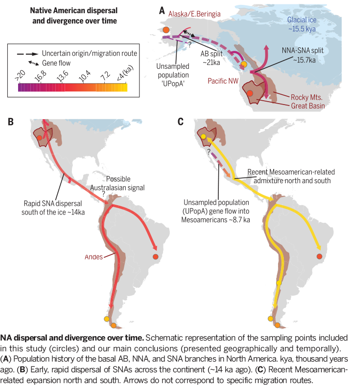 Science Magazine - December 7, 2018 - Early human dispersals within
