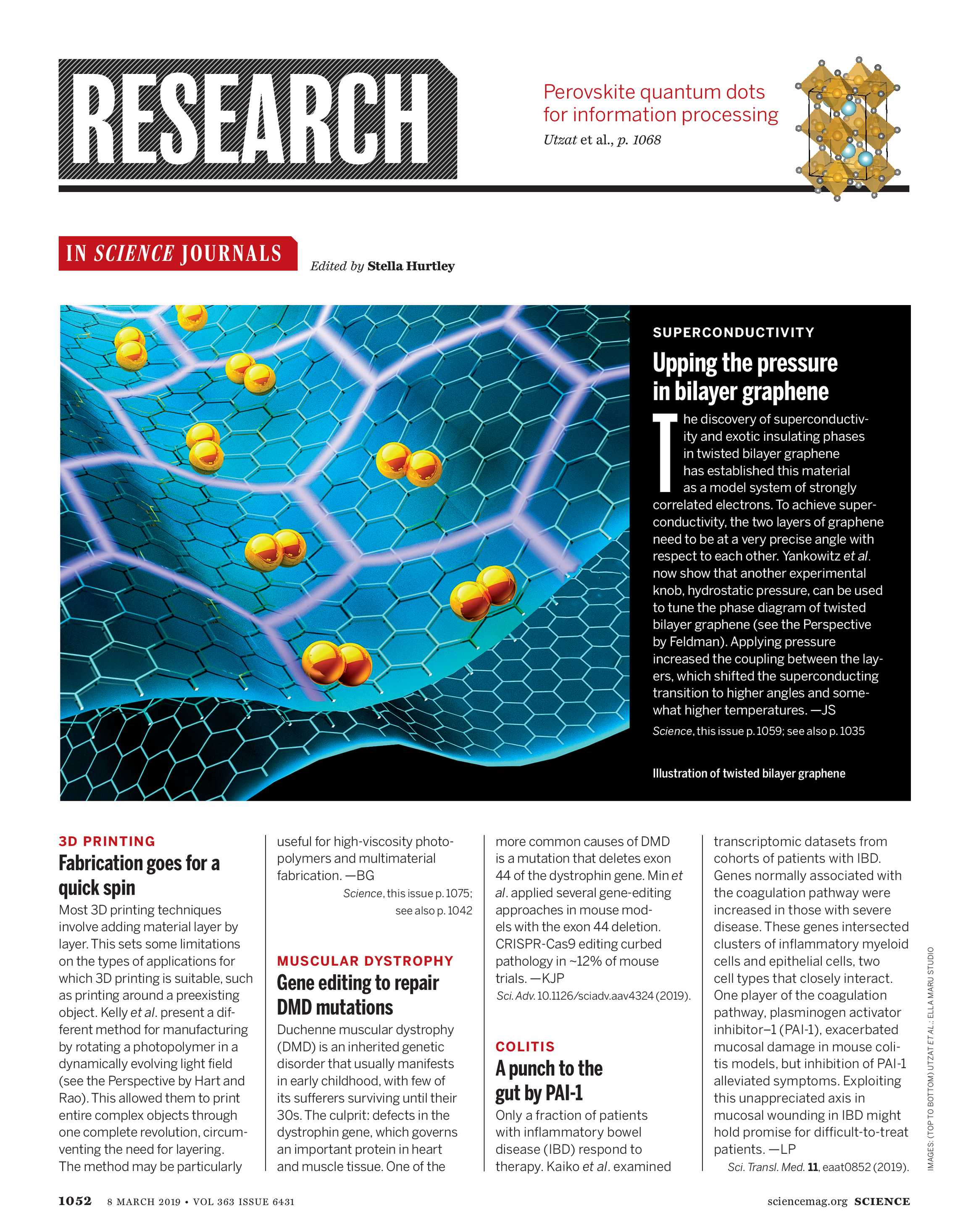 Science Magazine - March 8, 2019 - page 1052