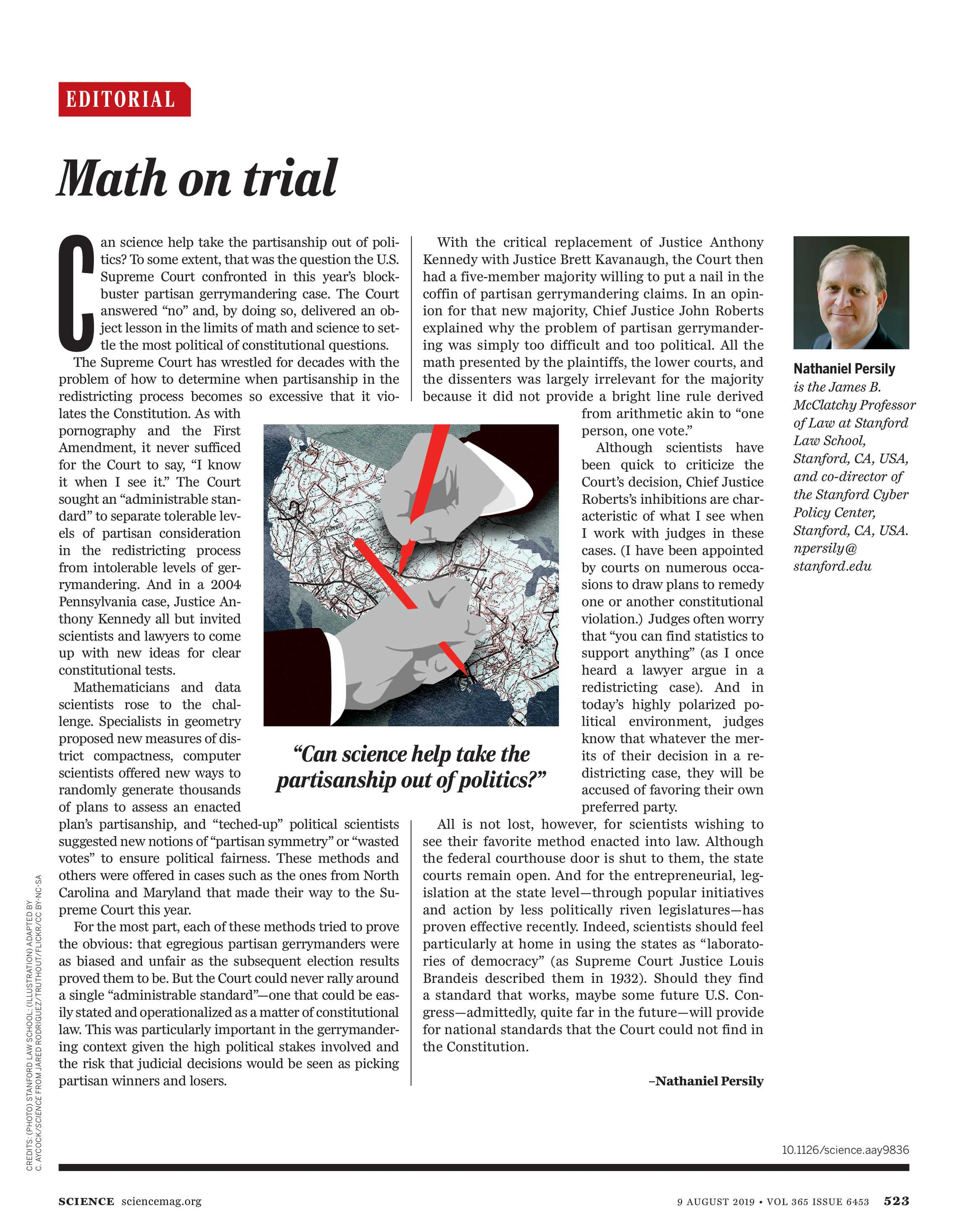 Science Magazine - August 9, 2019 - page 523