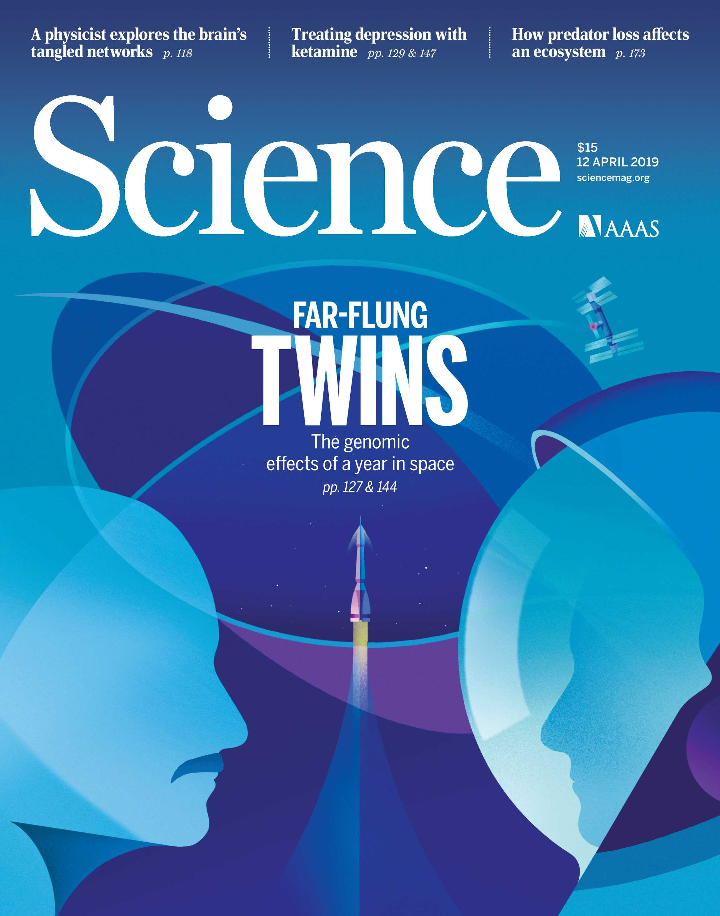Science Magazine April 12 2019 Page Cover
