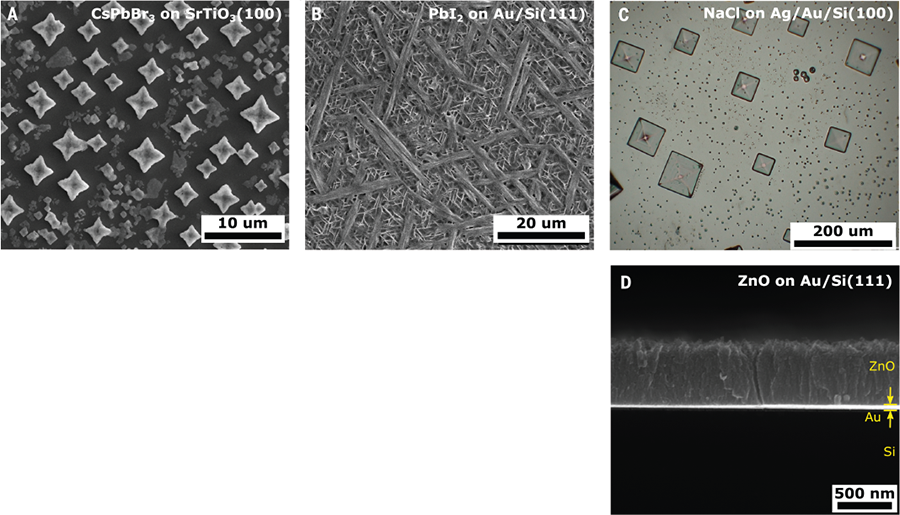 Science Magazine - April 12, 2019 - Spin coating epitaxial films