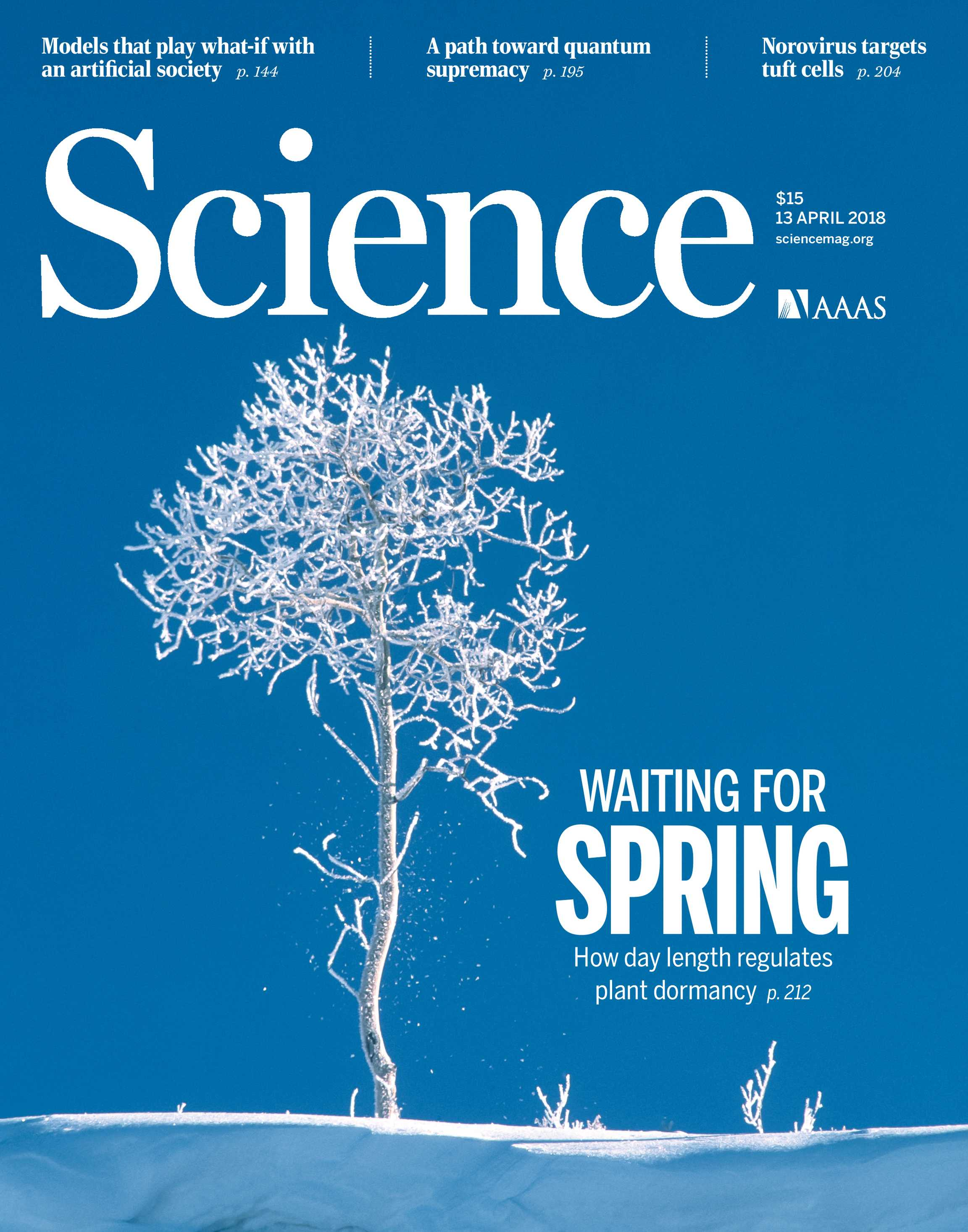 Science magazine april 13 2018 page cover page cover malvernweather Gallery