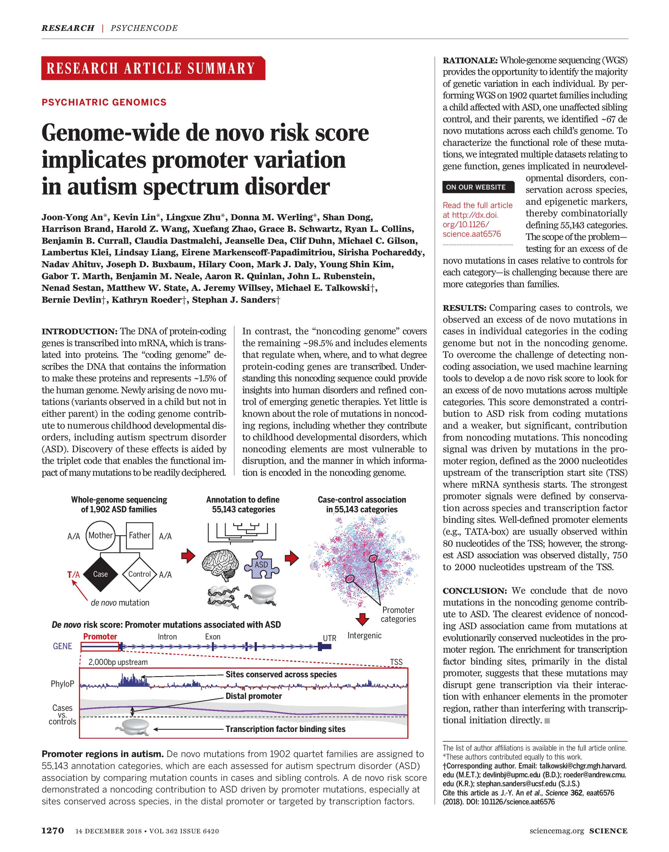 Science Magazine - December 14, 2018 - page 1270