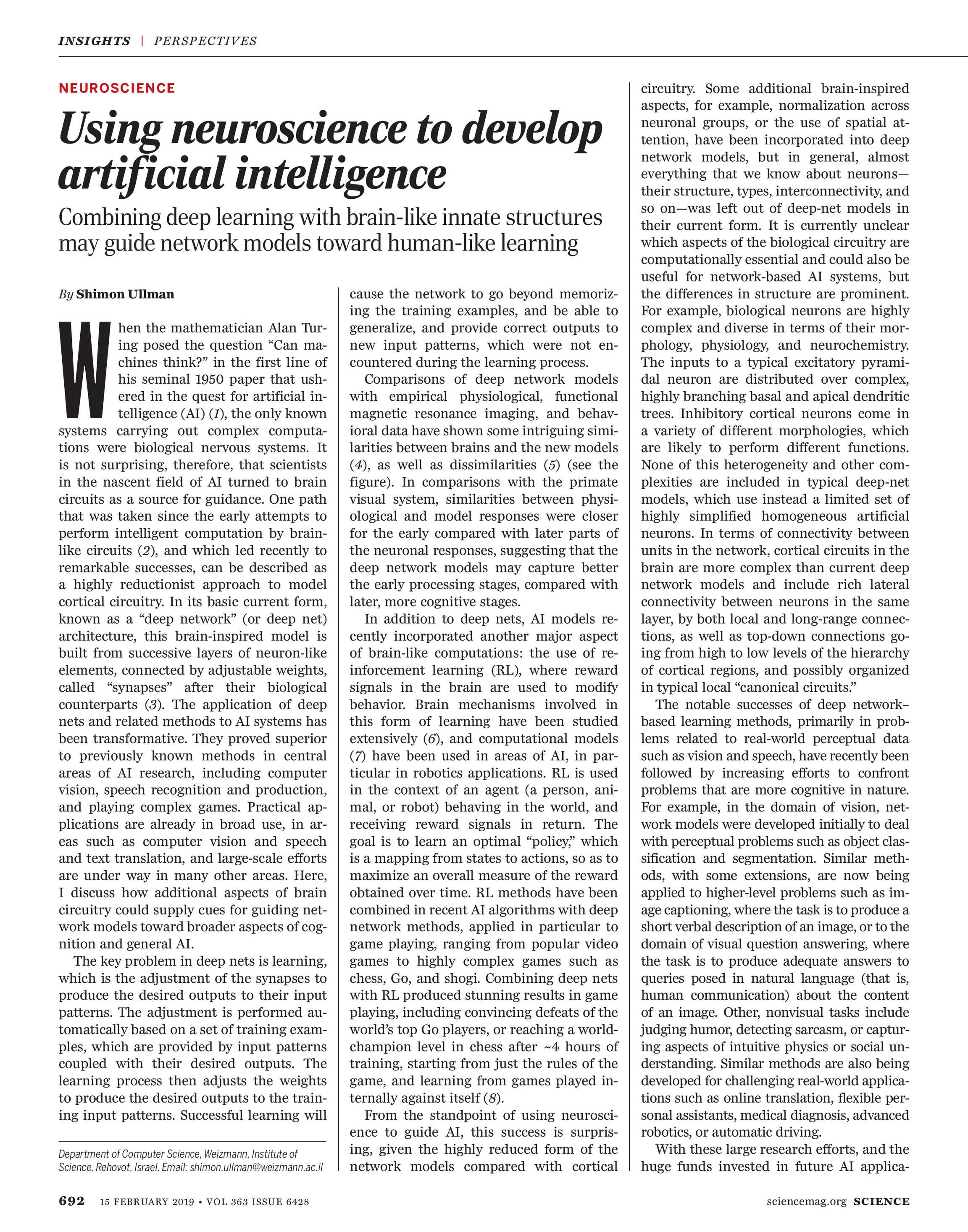 Science Magazine - February 15, 2019 - page 692