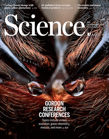 Science Magazine - February 16, 2018 - Front Cover