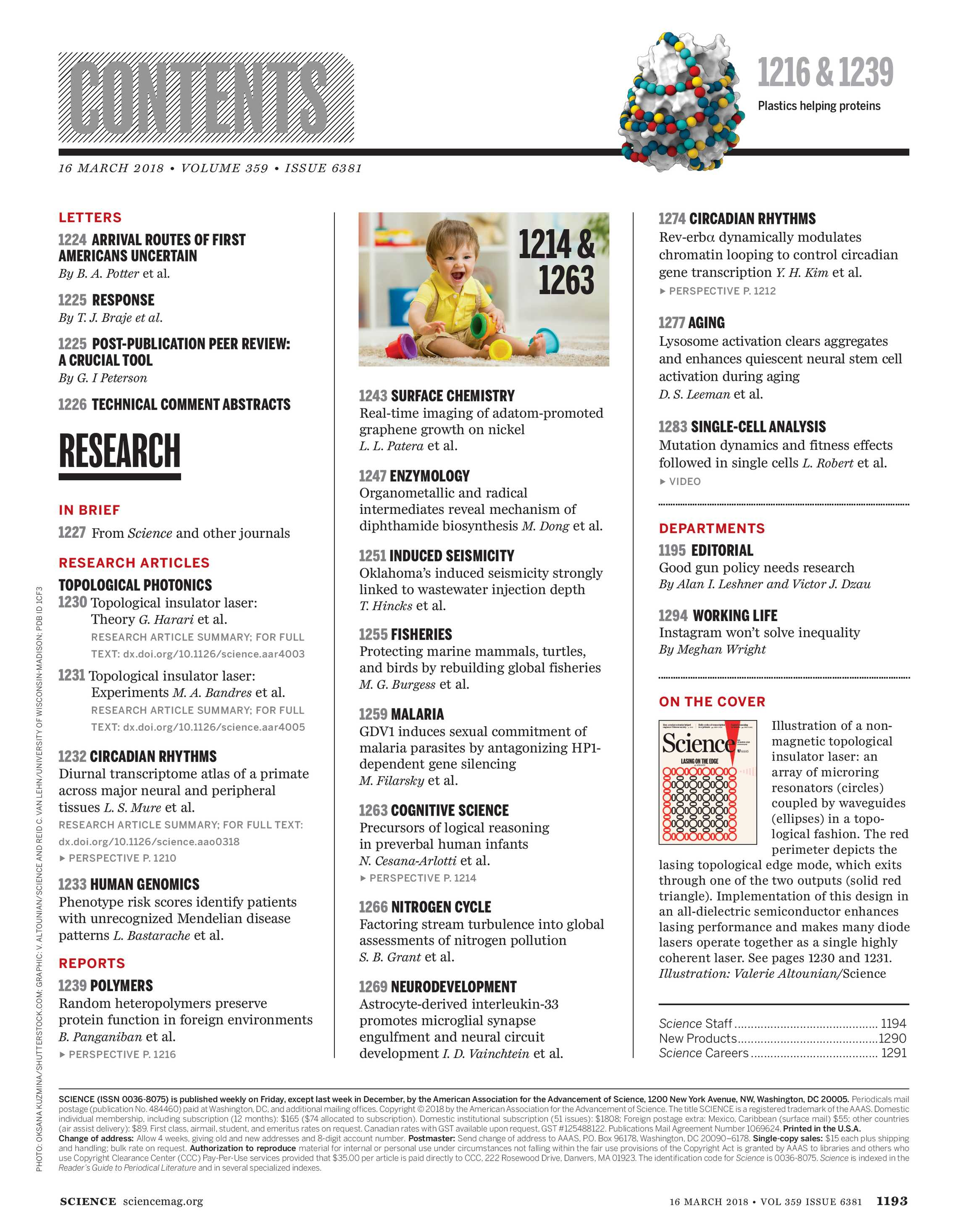 page 725 Array - science magazine march 16 2018 page 1193 rh  sciencemagazinedigital org