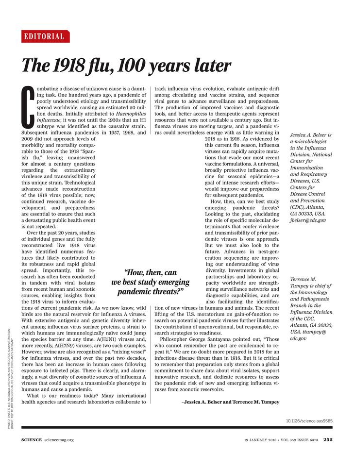 Science Magazine - January 19, 2018 - Page 254