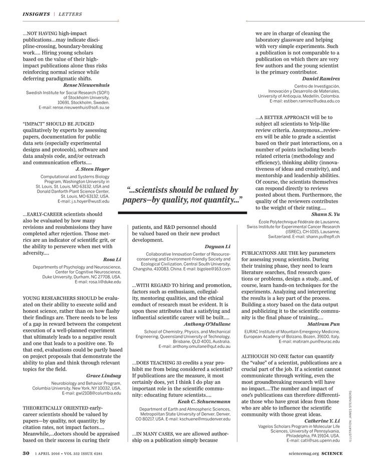 Science Magazine - 1 April 2016 - Page 30