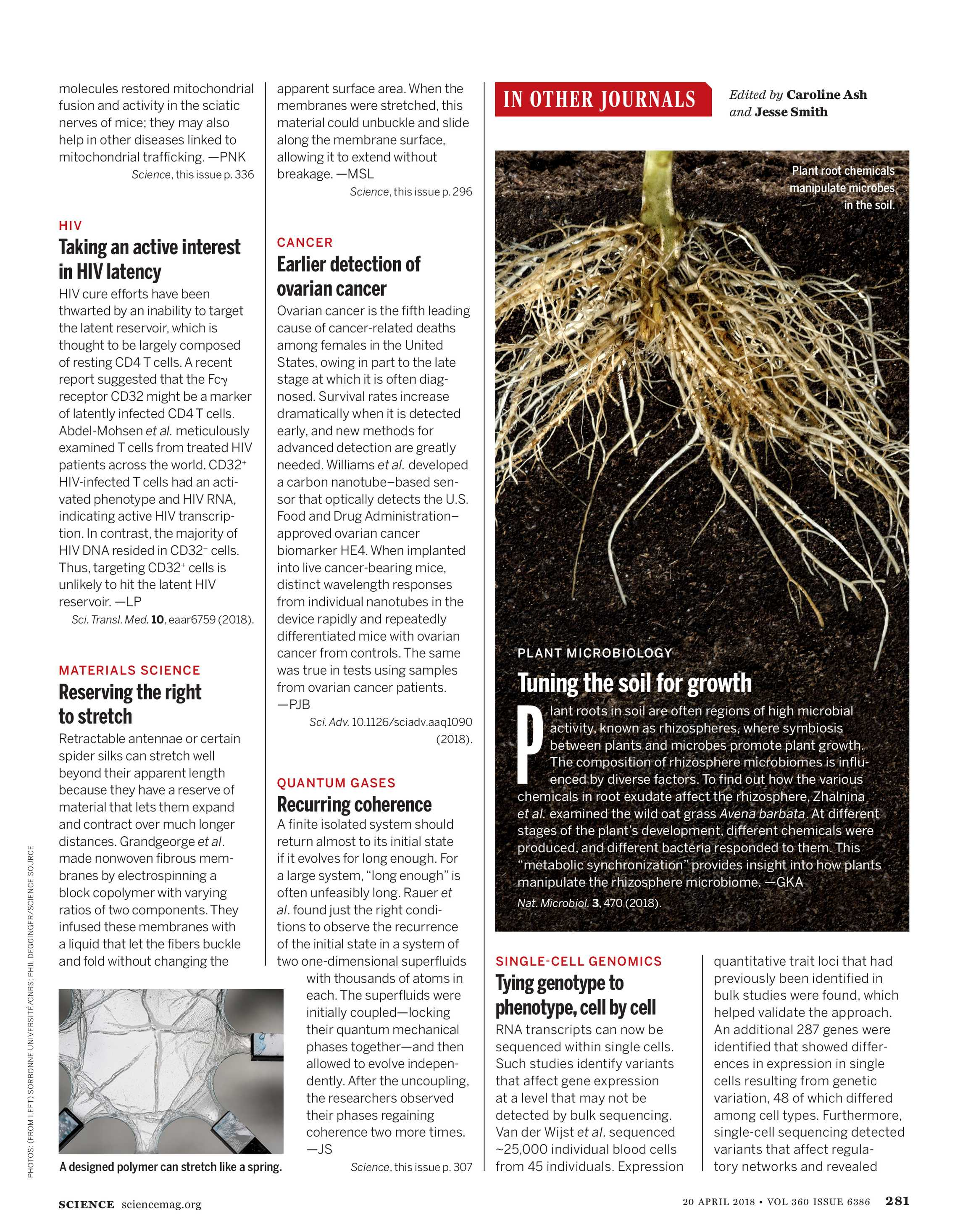 Science Magazine - April 20, 2018 - page 281