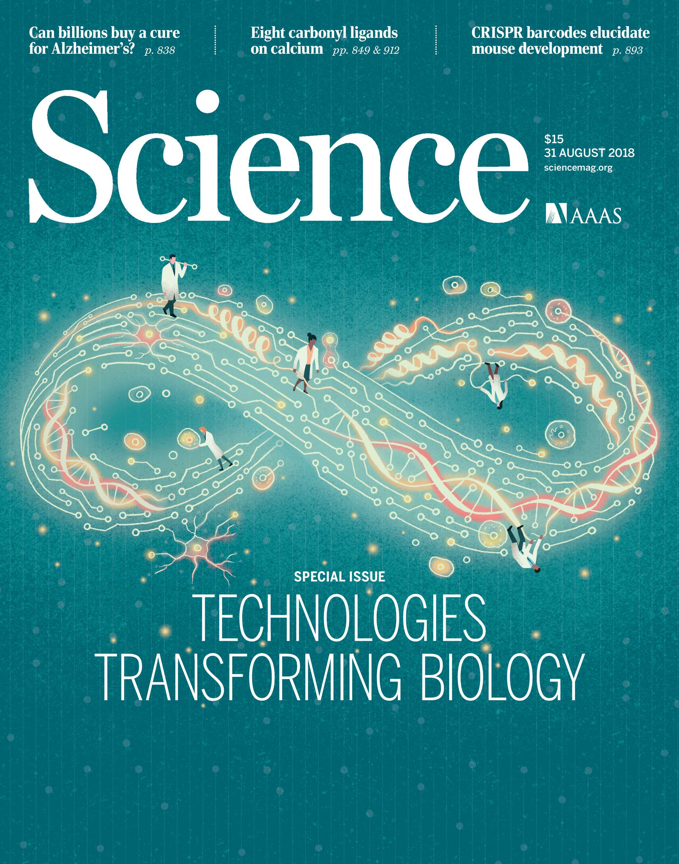 Science Magazine August 31 2018 Page Cover