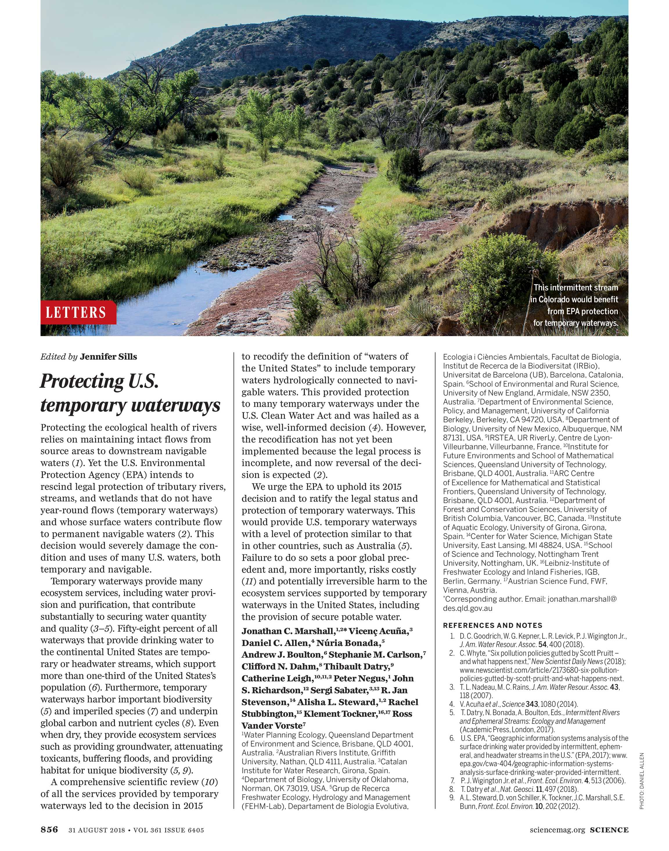 Science Magazine - August 31, 2018 - page 855