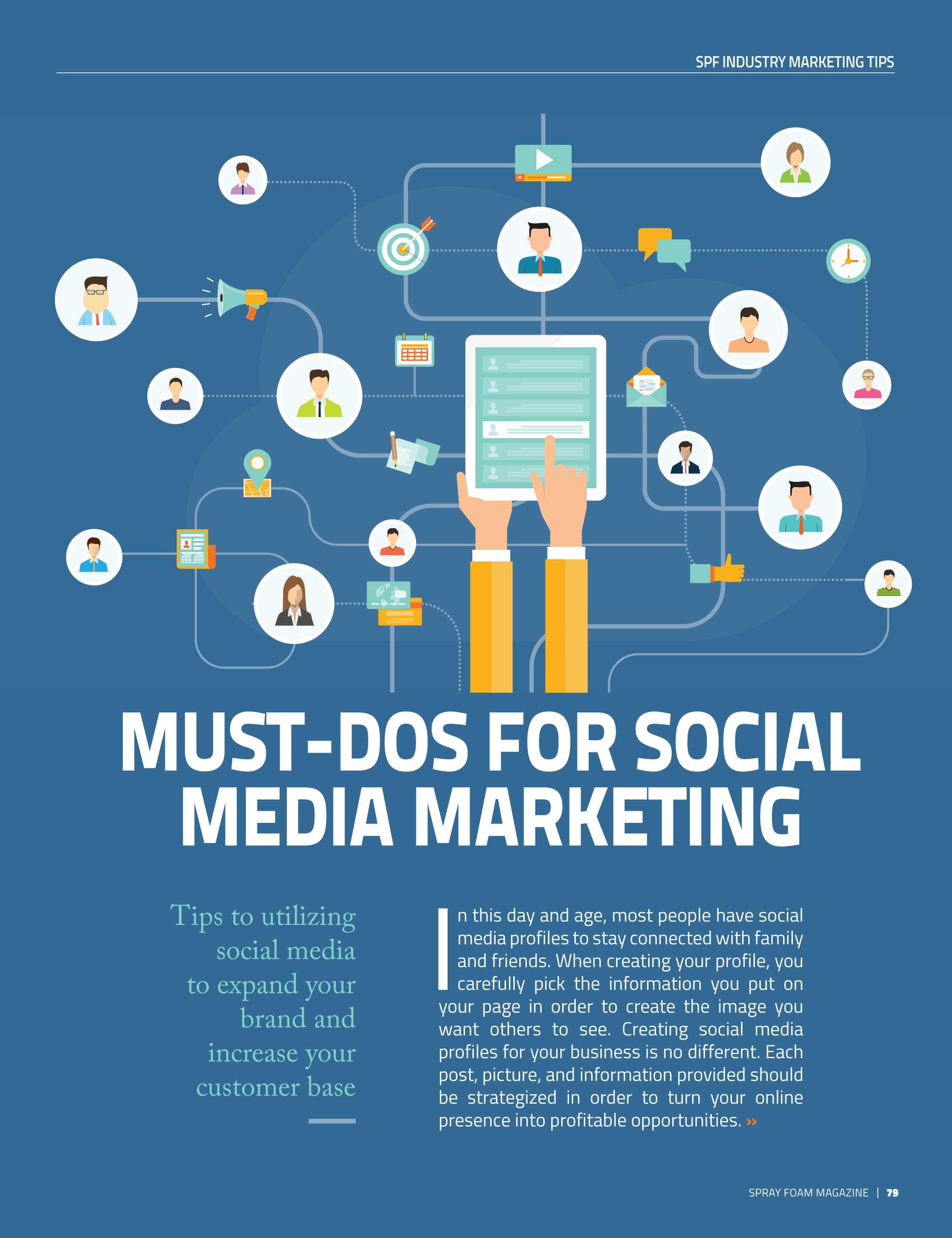 Families Turn To Social Media With >> Spray Foam Magazine Janfeb2018 Page 79