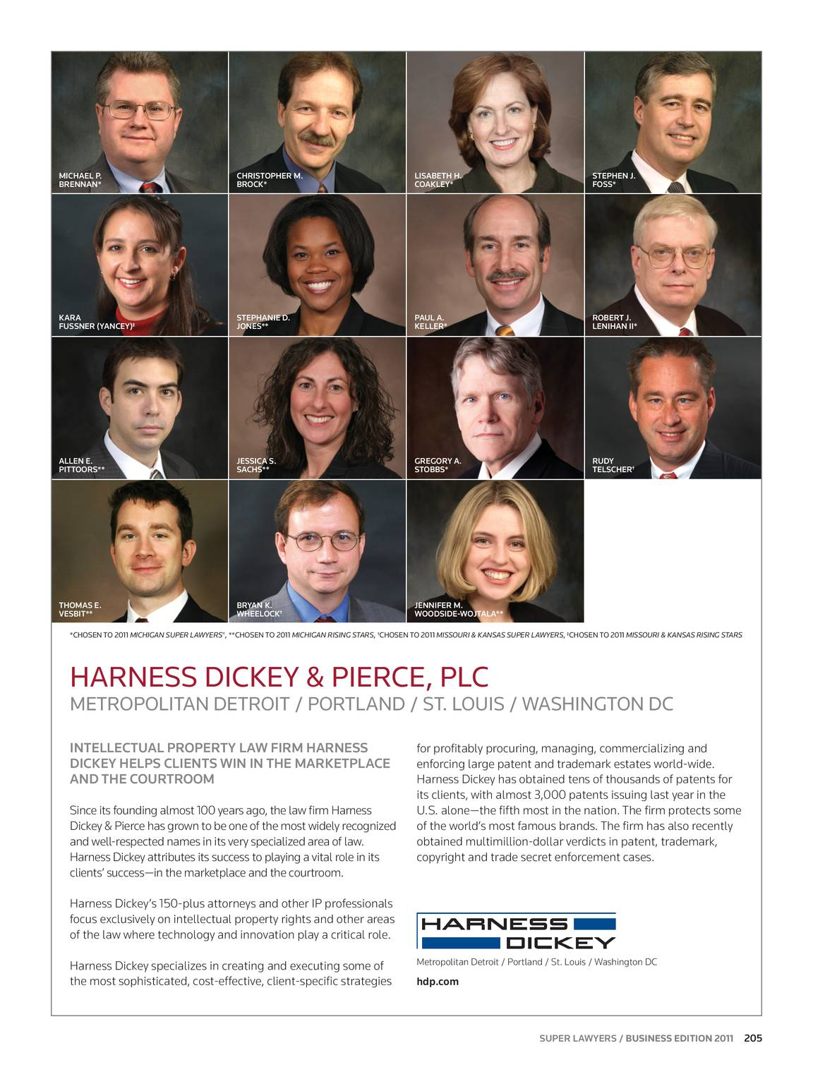 Super Lawyers - Business Edition 2011 - page 206