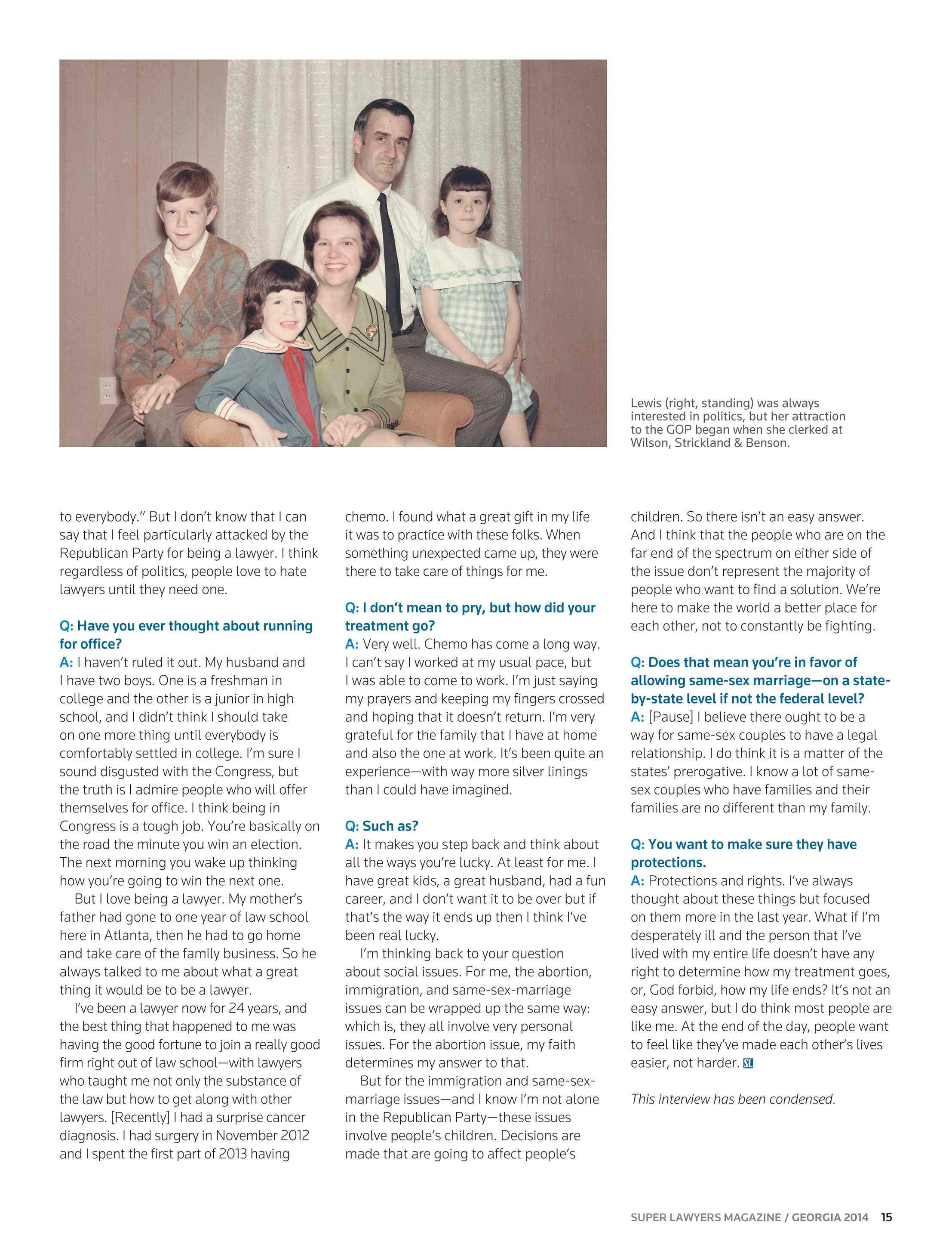 Super Lawyers Georgia 2014 Page 15