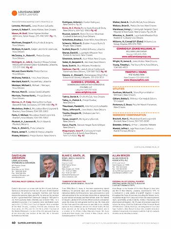 Super Lawyers - Louisiana 2017 - page 40