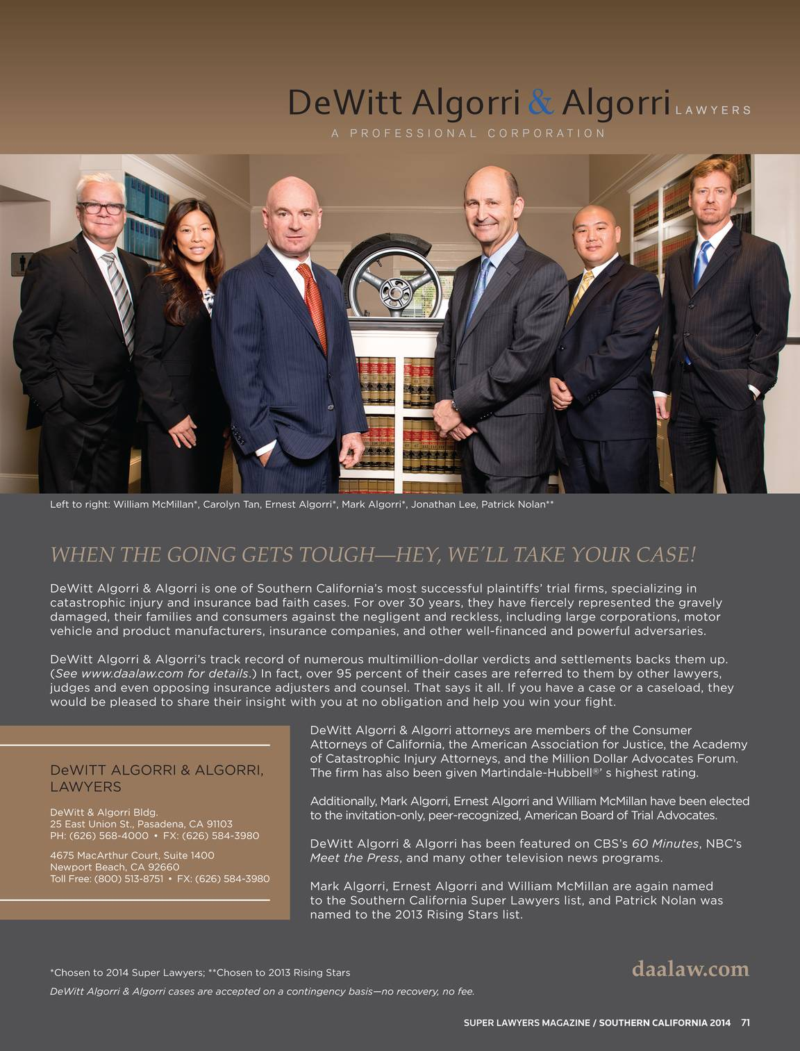 Super Lawyers - Southern California 2014 - page 70