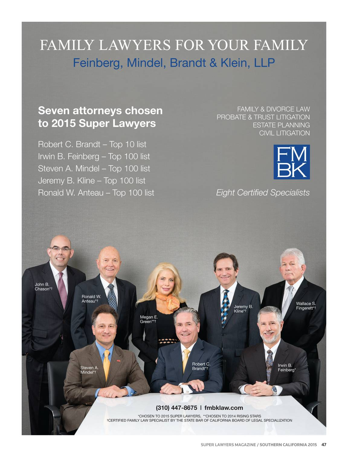 Super Lawyers - Southern California 2015 - page 48