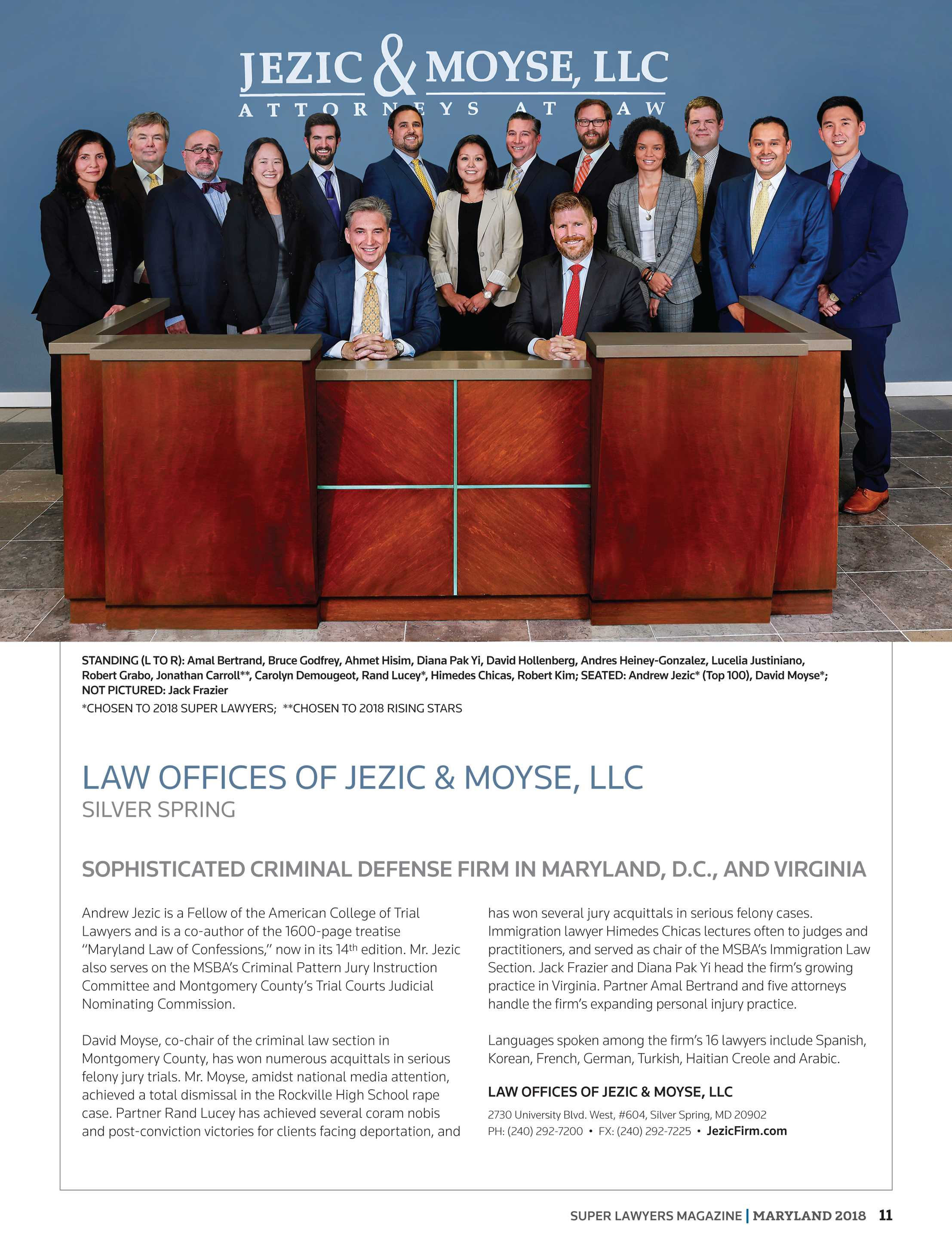 Super Lawyers Maryland 2018 Page 11