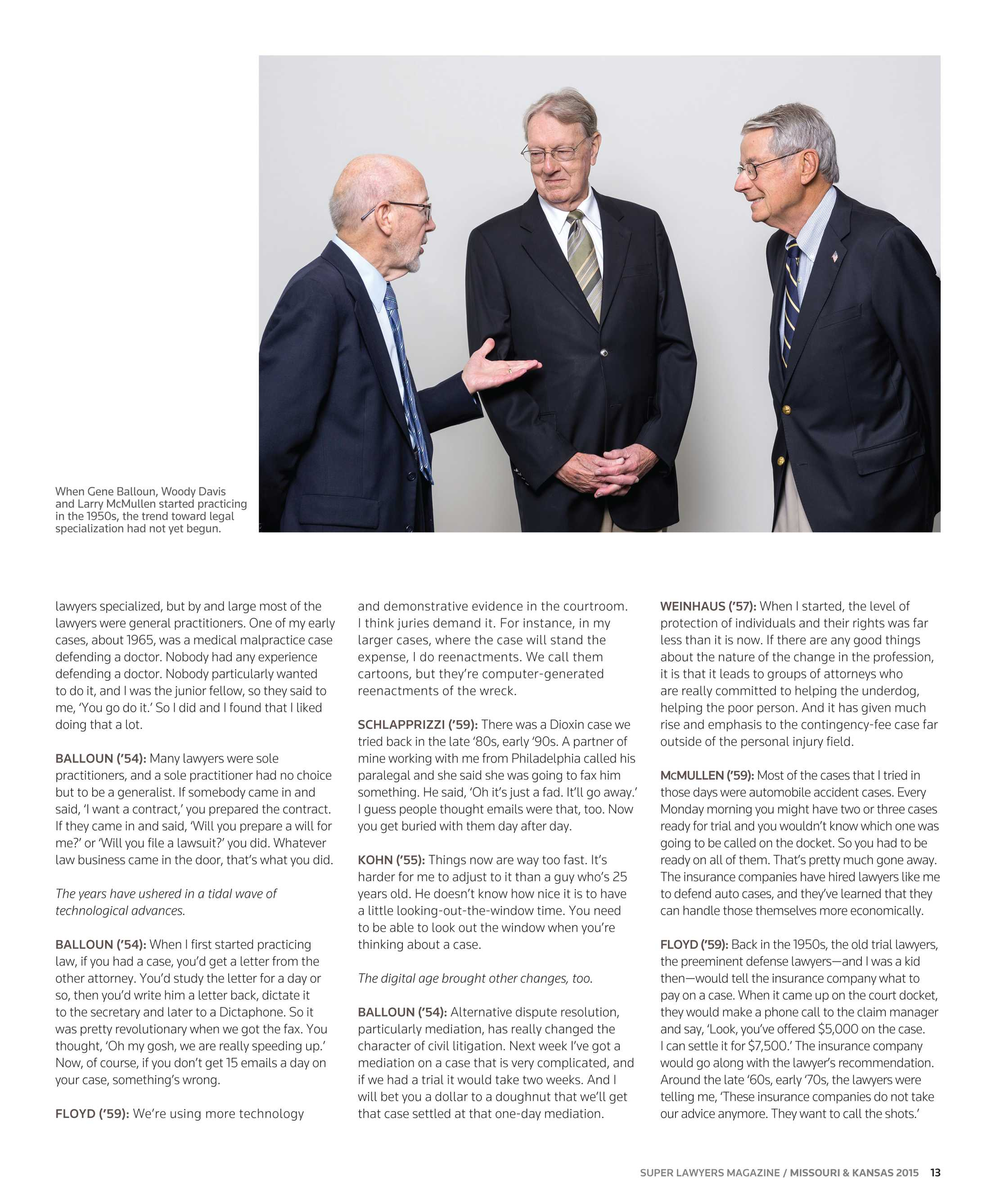 d2cf4bb9efd5 Super Lawyers - Missouri and Kansas 2015 - page 13