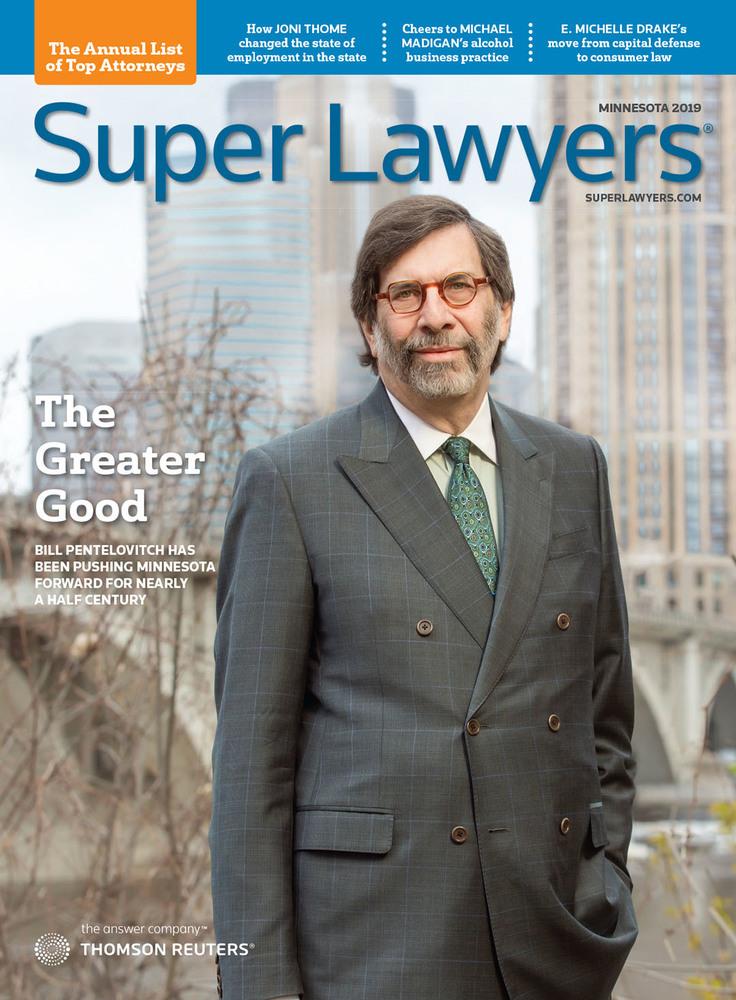Super Lawyers - North Carolina 2019 - Cover