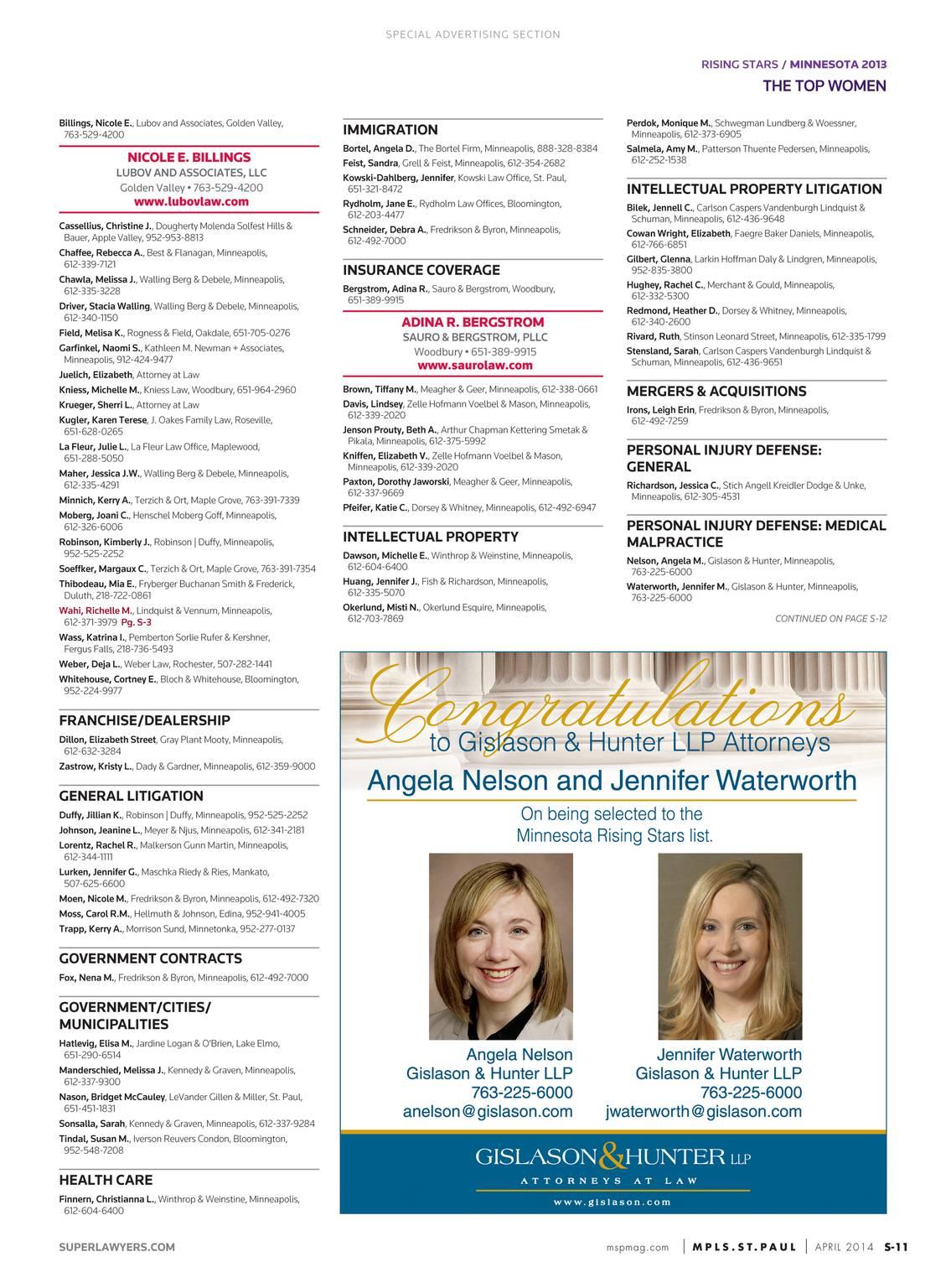 Super Lawyers - Colorado 2014 - page S-12