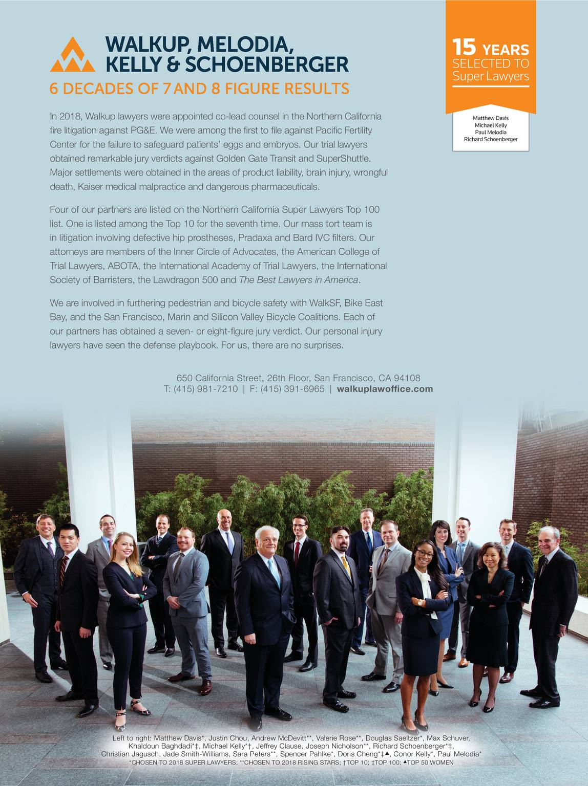 Super Lawyers - Northern California 2018 - page 107