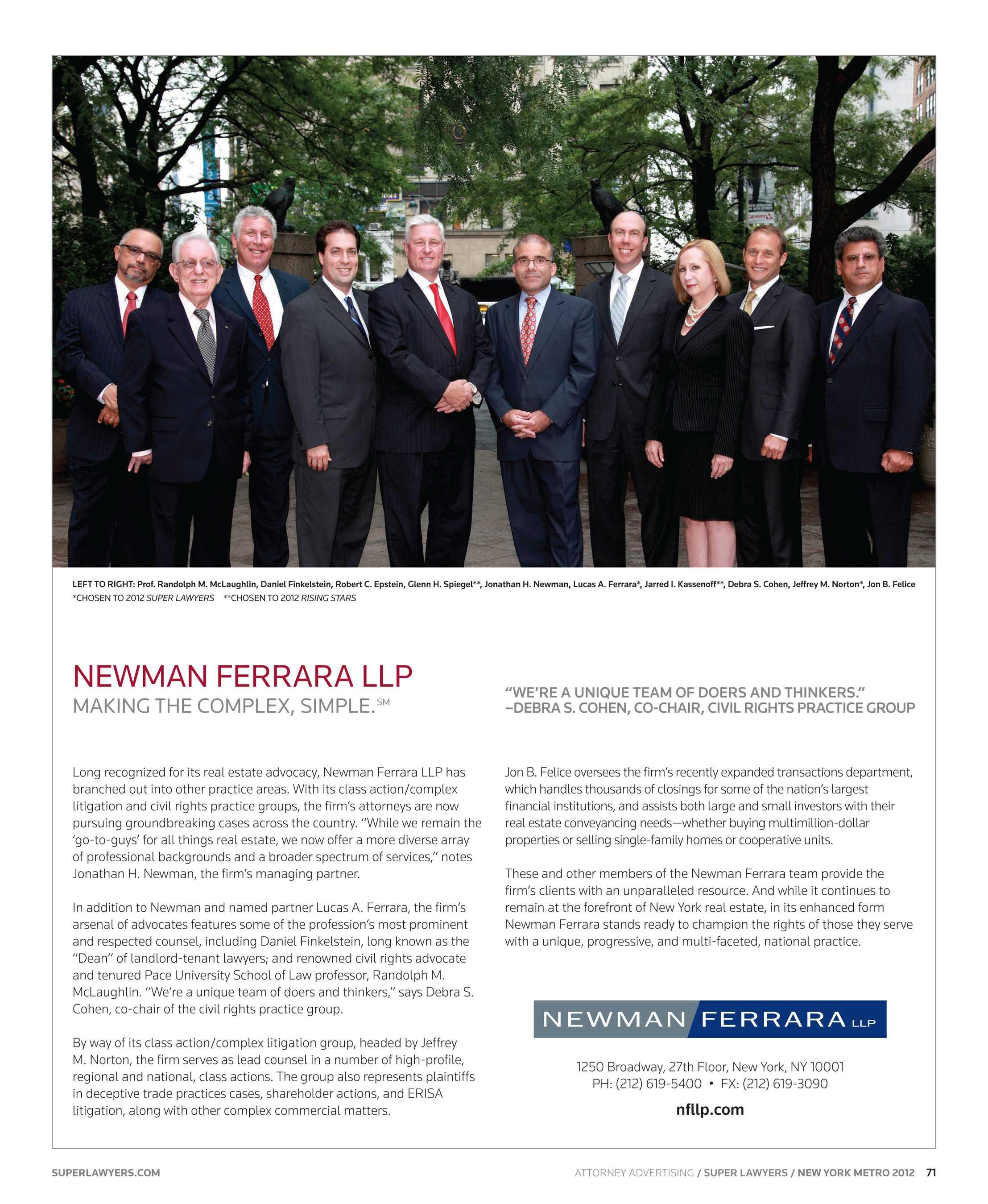 b22abe2e662 Super Lawyers - New York - Metro 2012 - page 71