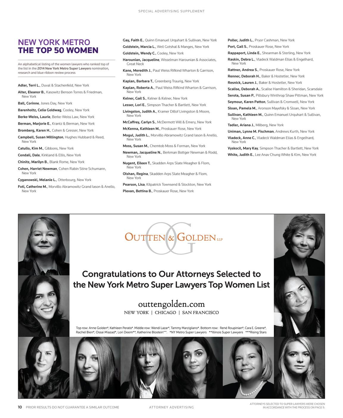 Super Lawyers - The Top Women Attorneys in Northern