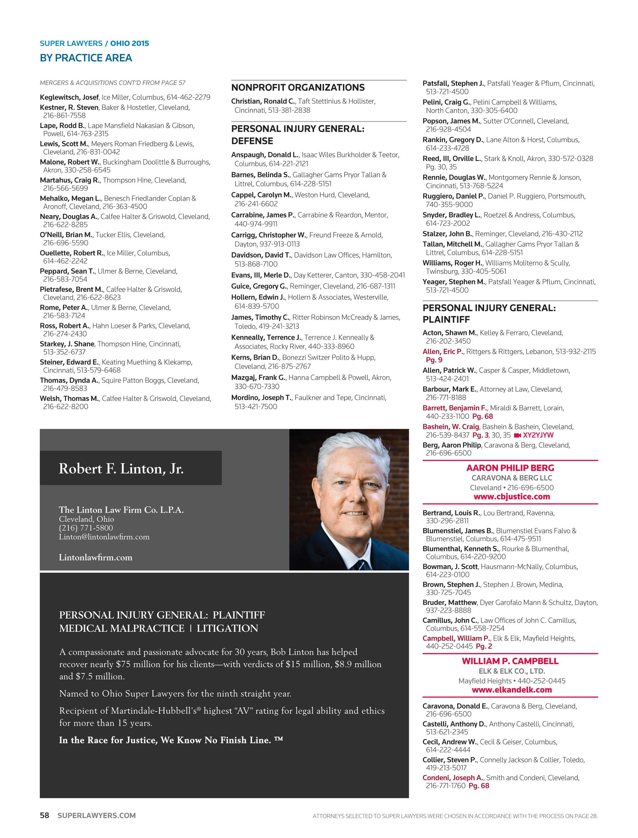 Super Lawyers - Illinois 2017 - page 58