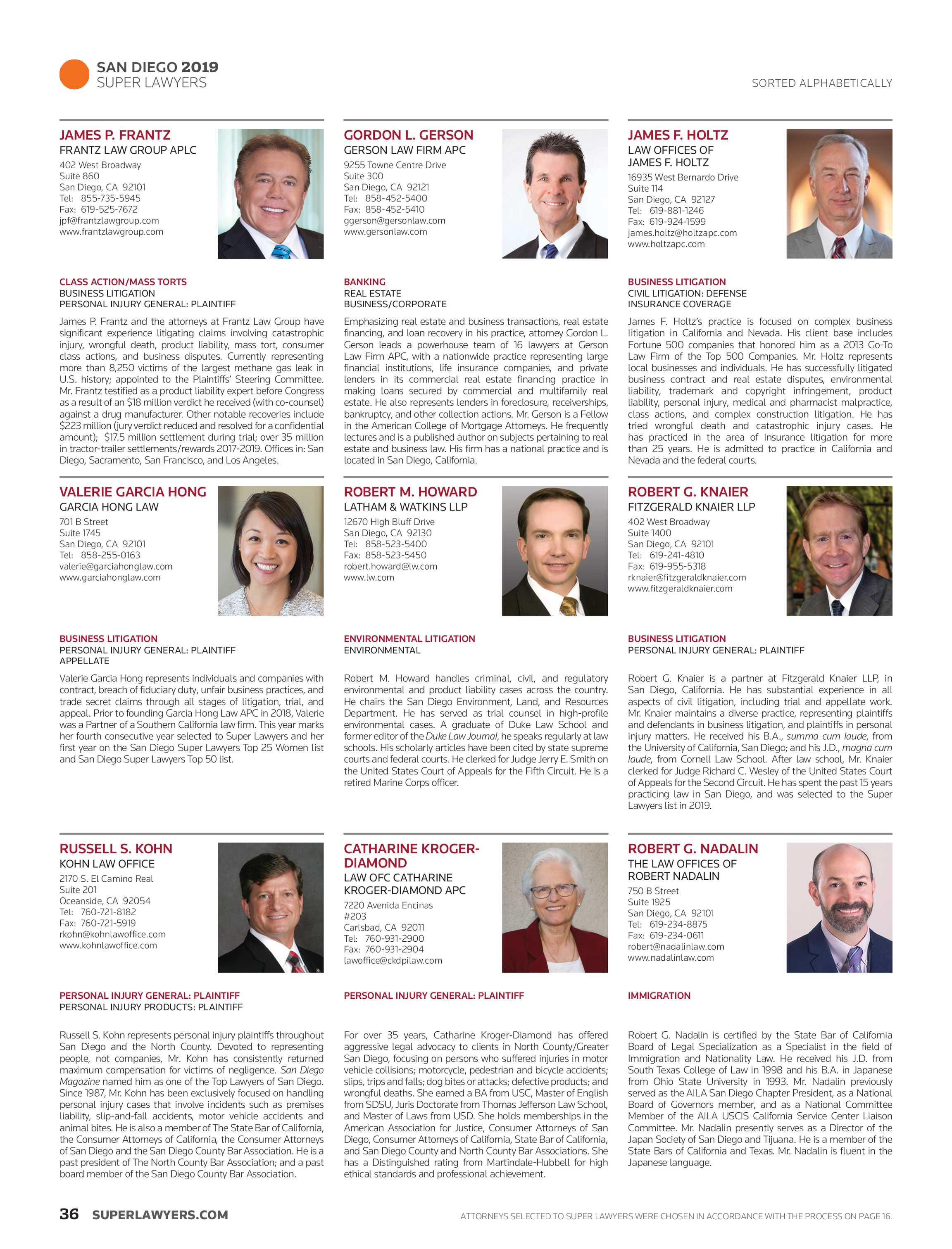 Super Lawyers - Virginia and West Virginia 2019 - page 37