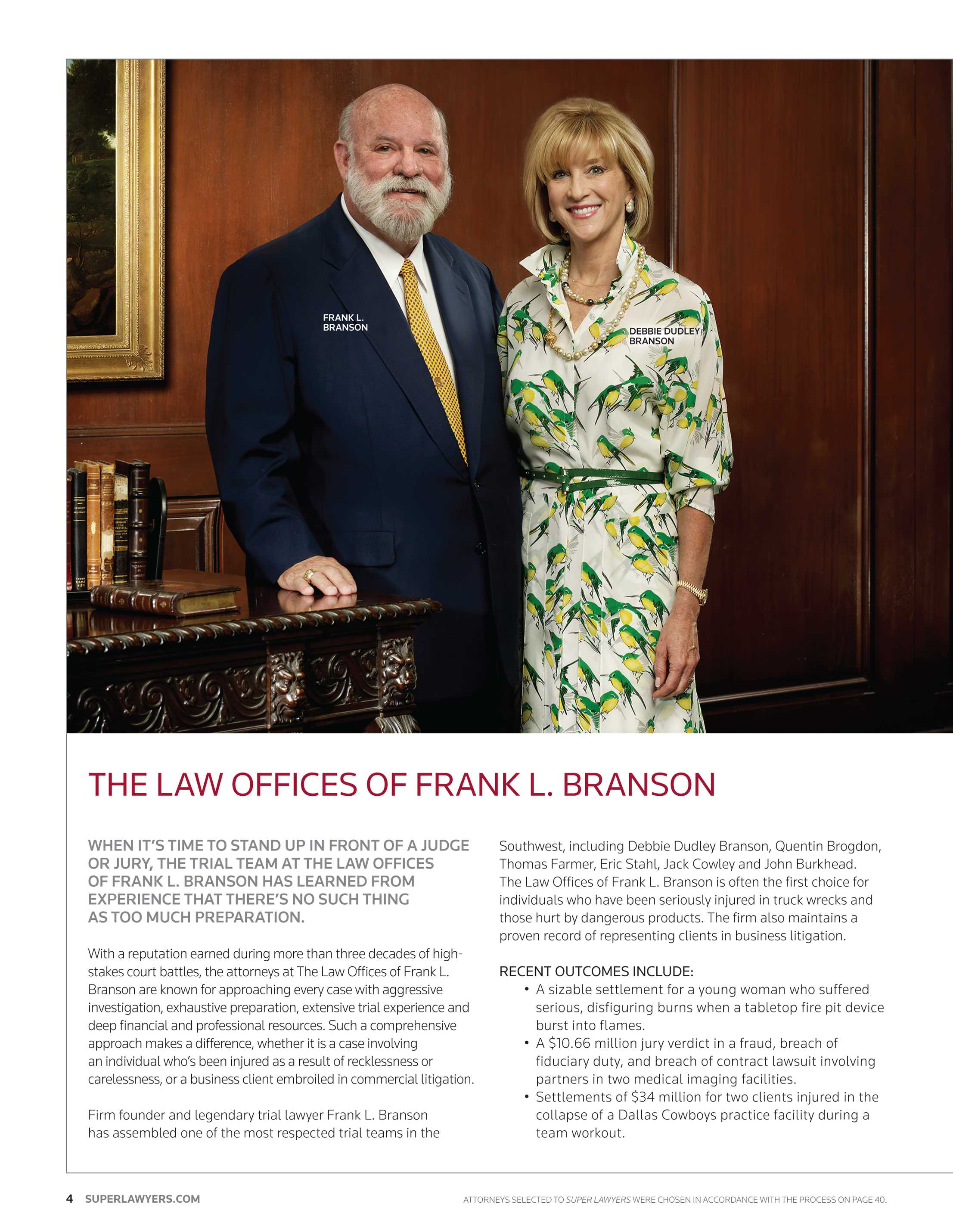 Super Lawyers - Texas 2012 - page 4