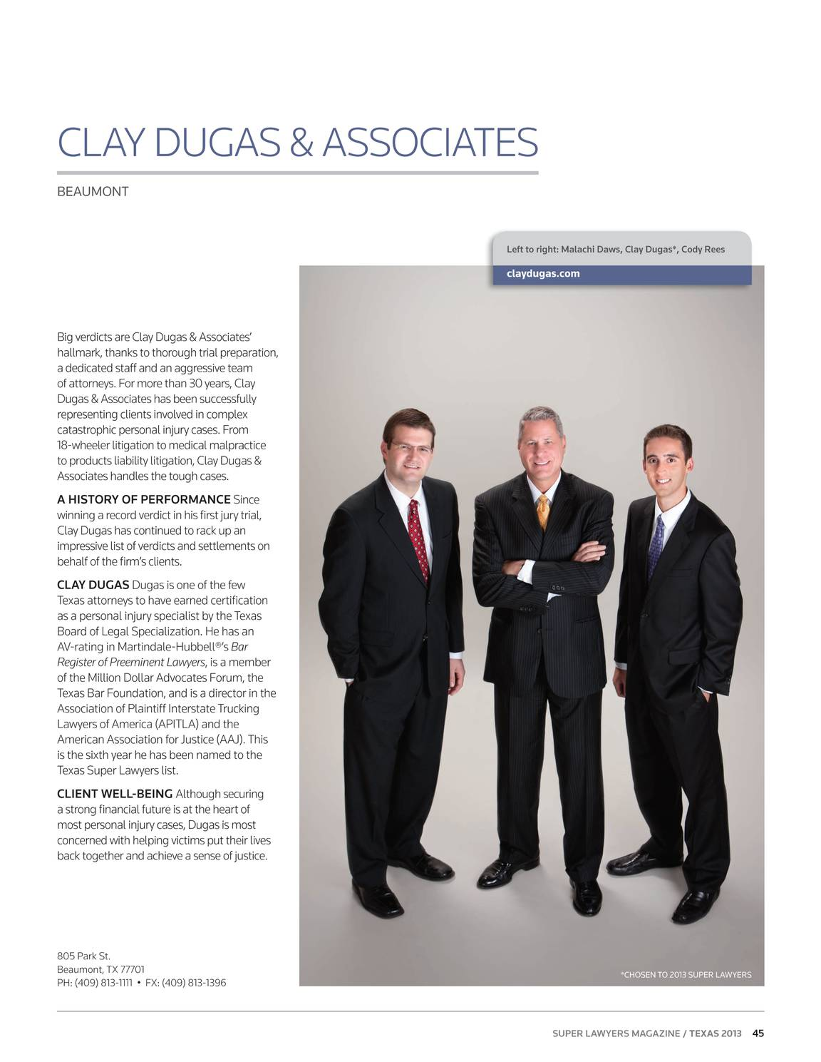 Super Lawyers - Texas 2013 - page 44