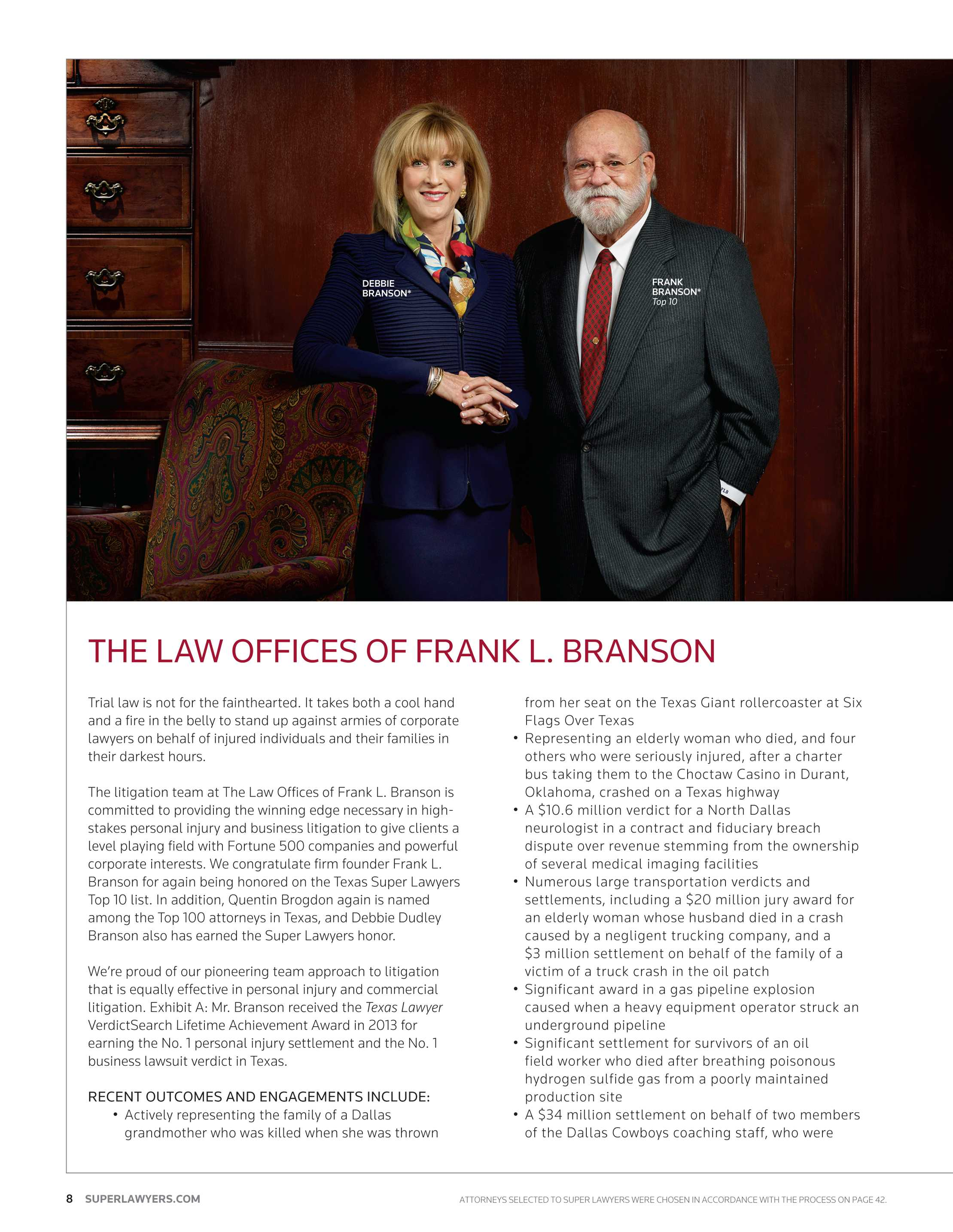 Super Lawyers - Texas 2014 - page 8
