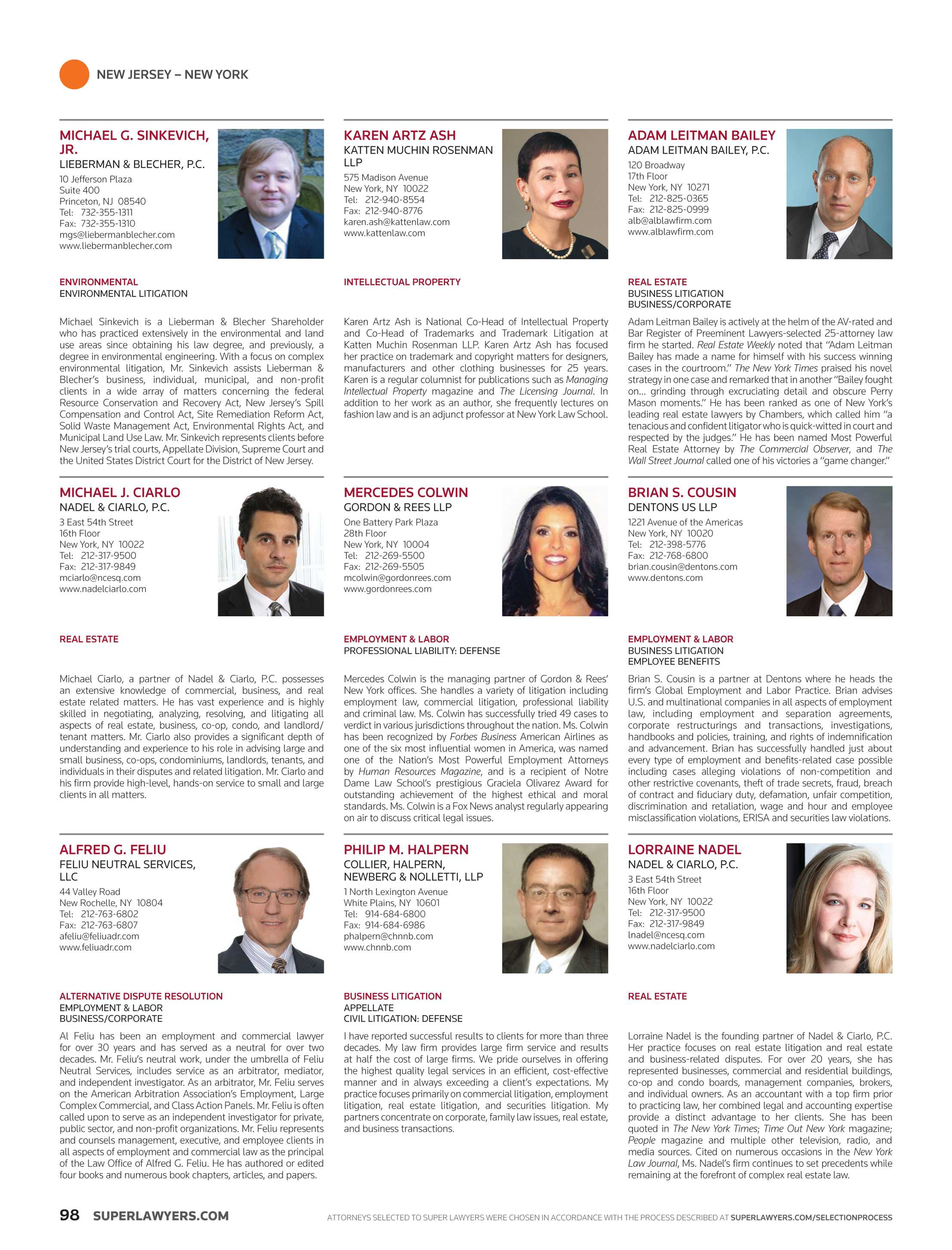 82f0496e94f Super Lawyers - Business Edition 2016 - page 98