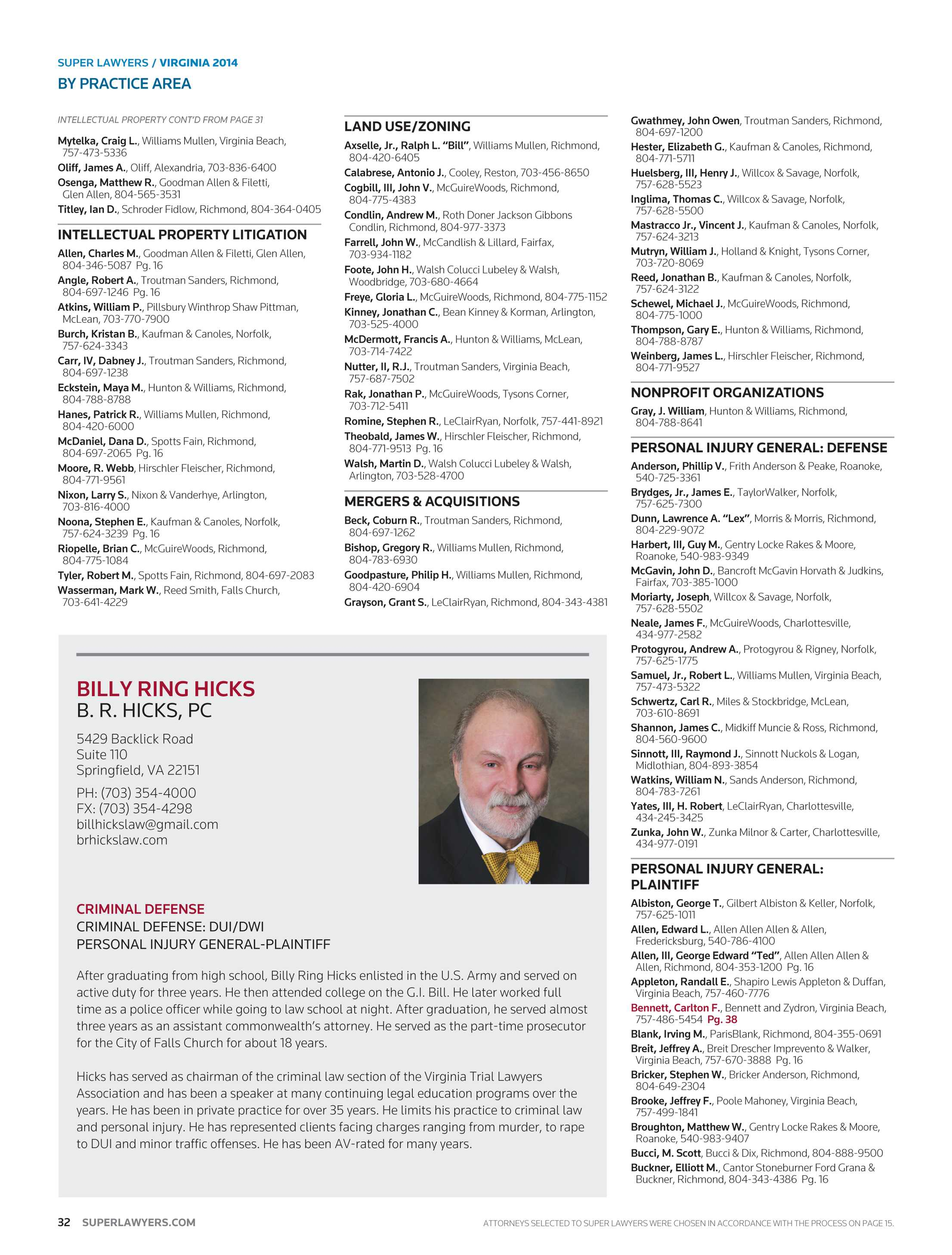 Super Lawyers - Oklahoma 2014 - page 32