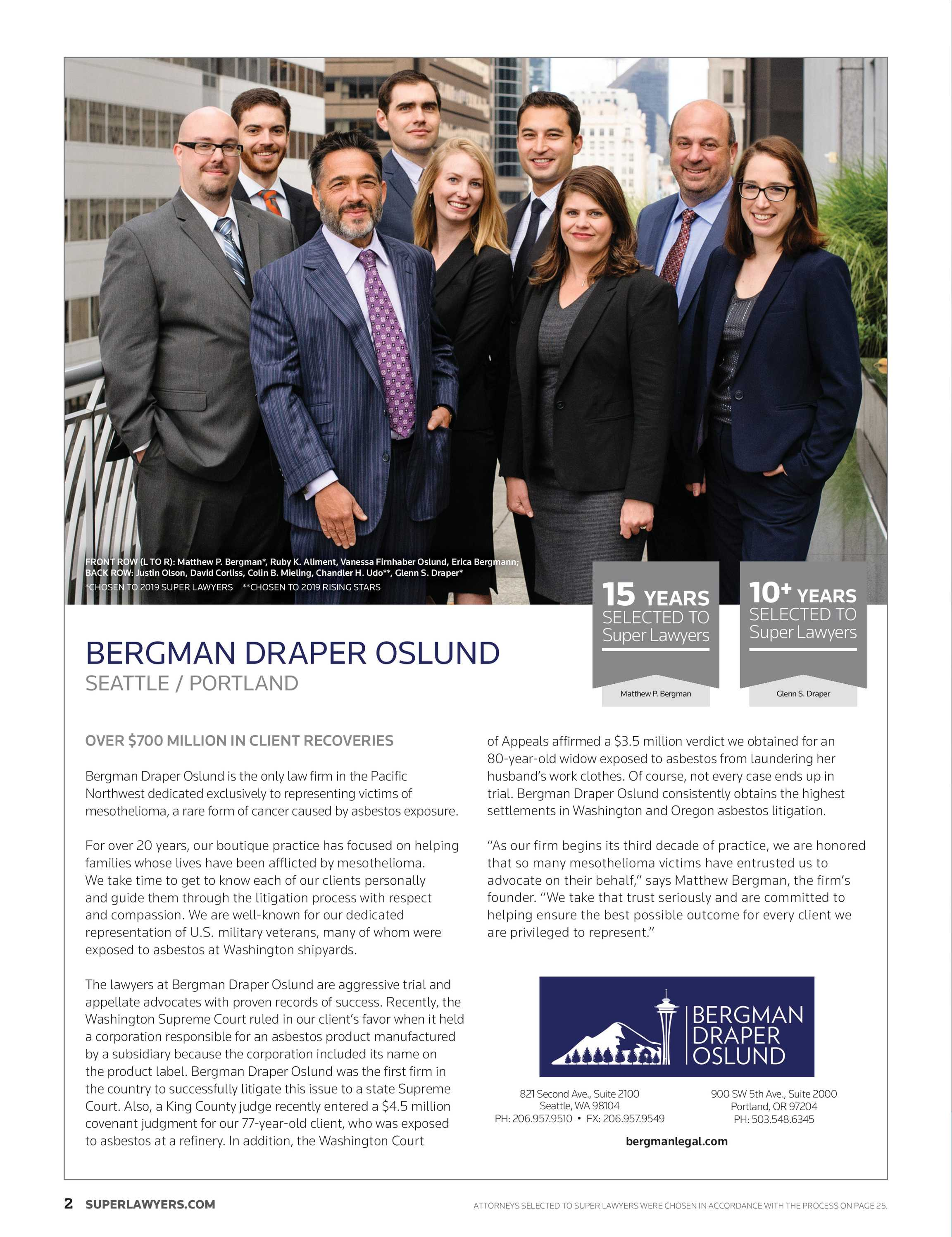 Super Lawyers - Southwest 2019 - page 2