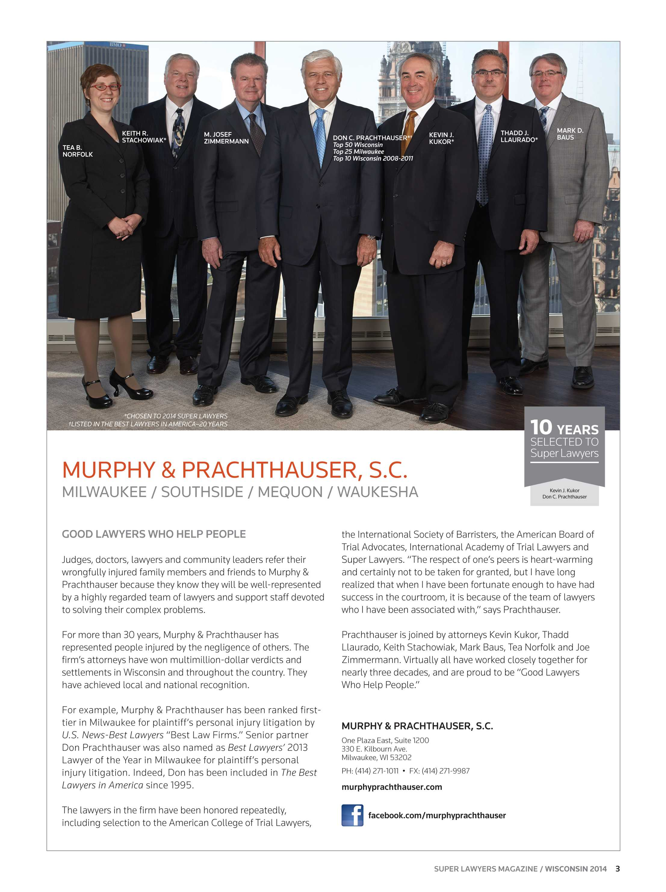 Super Lawyers - Wisconsin 2014 - page 3