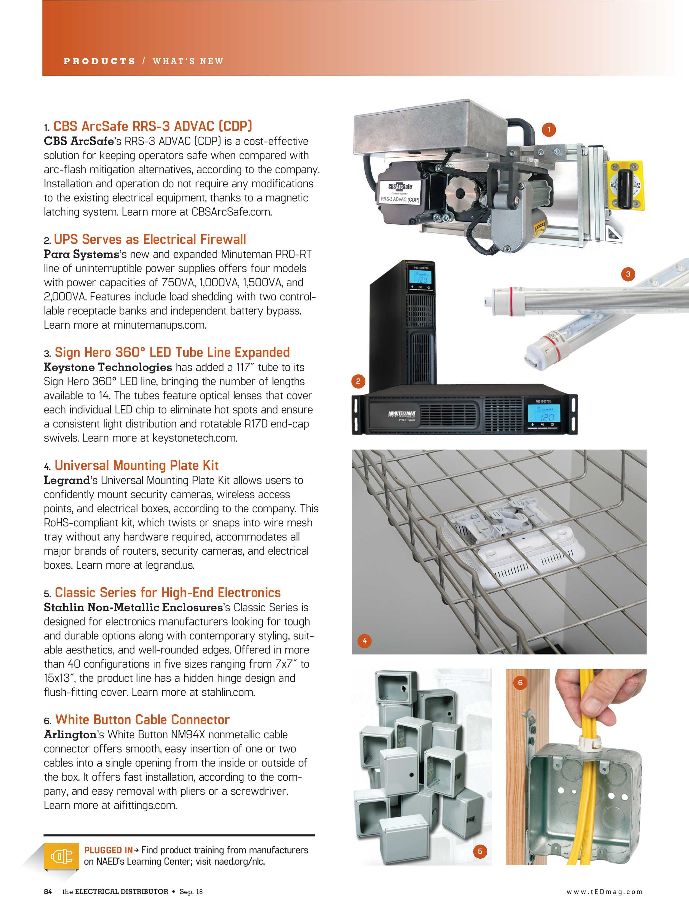 Ted Magazine September 2018 Page 84 Home Wiring In Series Or Parallel Along With Battery Bank