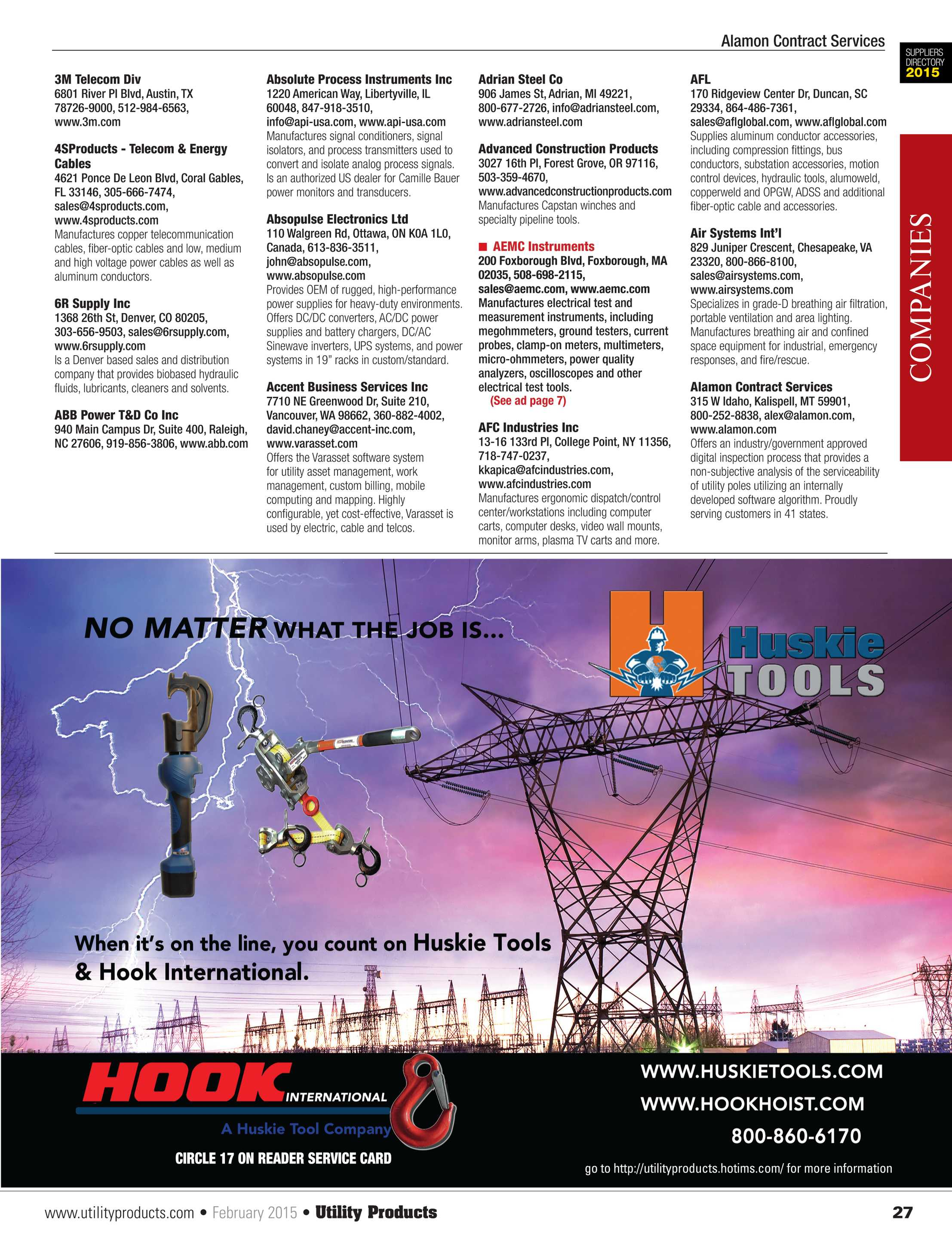 Utility Products - February 2015 - page 27