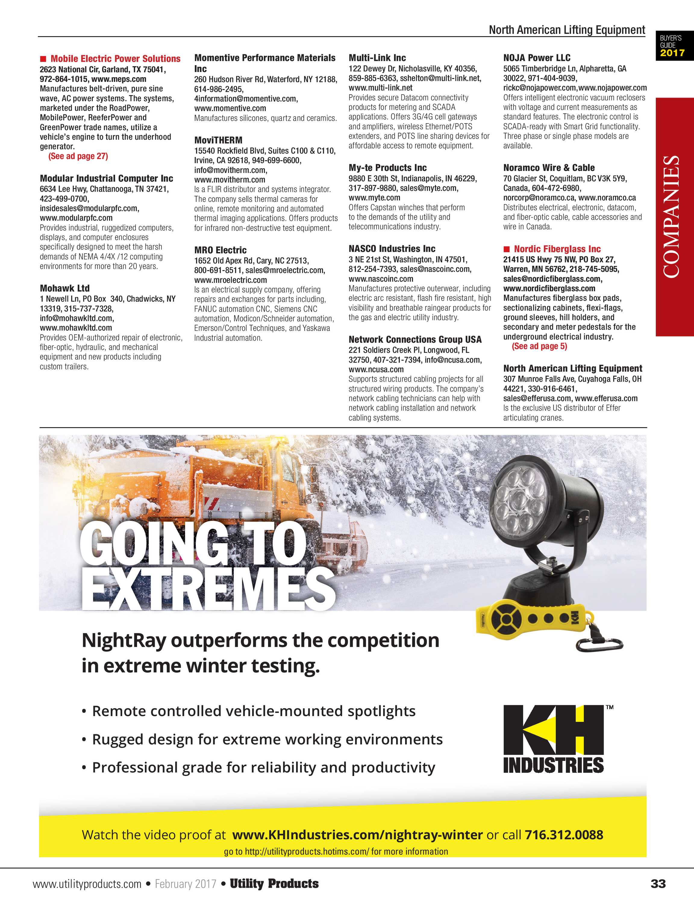 Utility Products - February 2017 - page 33