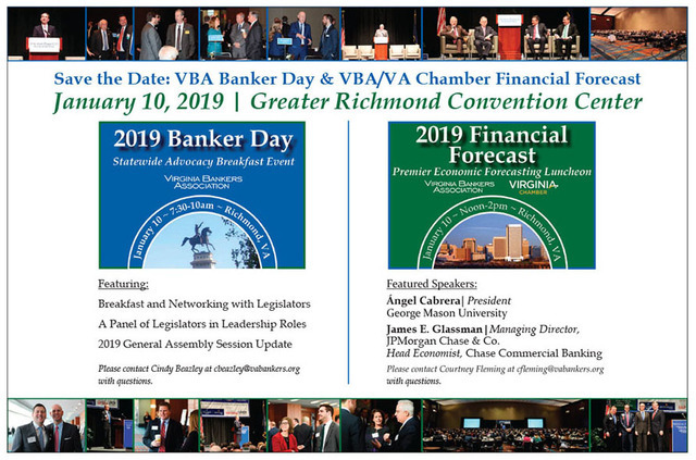 Virginia Banking Magazine (VBA0Q) - Volume 4, 2018 - Bankers