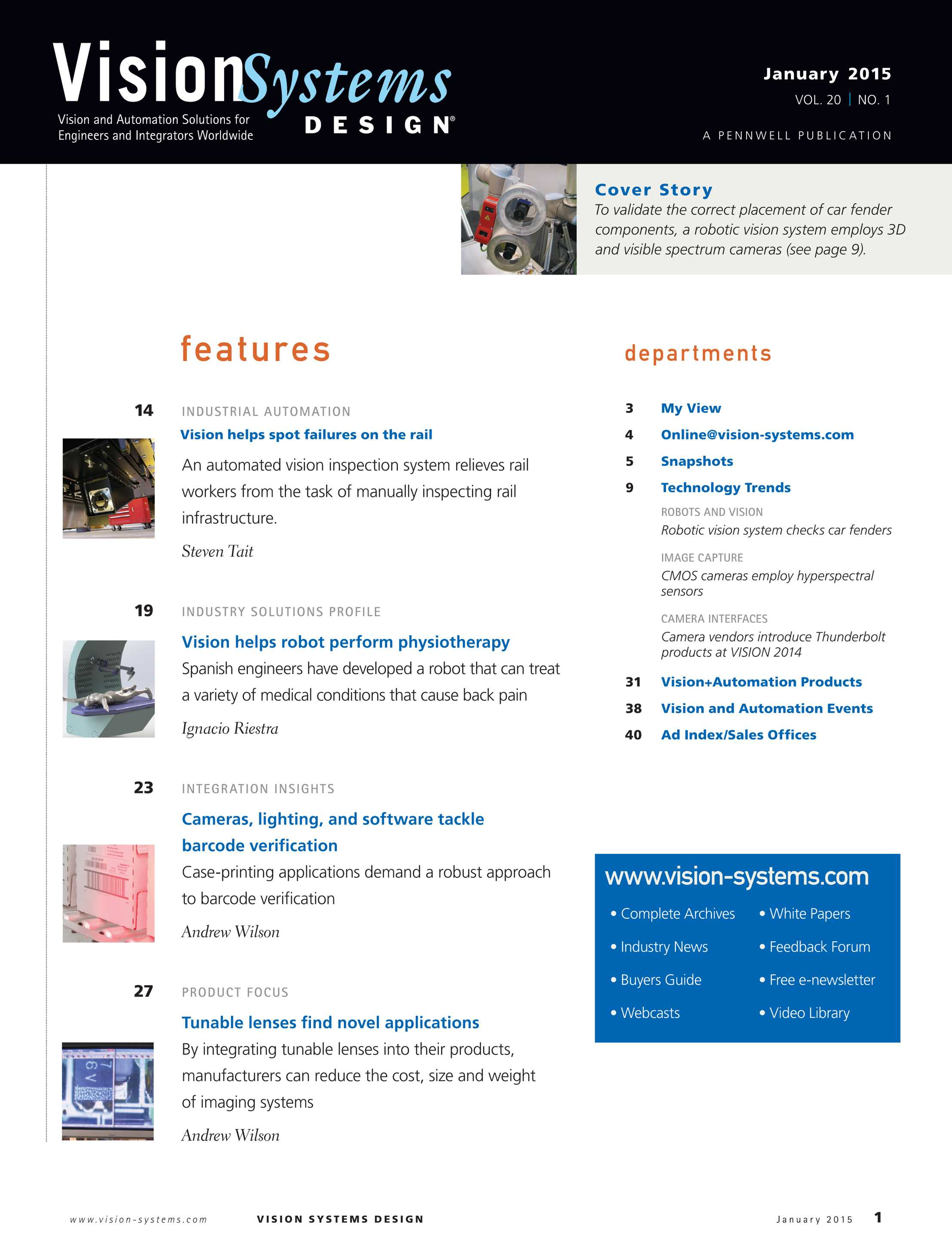 Barcode Verification vision systems - january 2015 - page 1