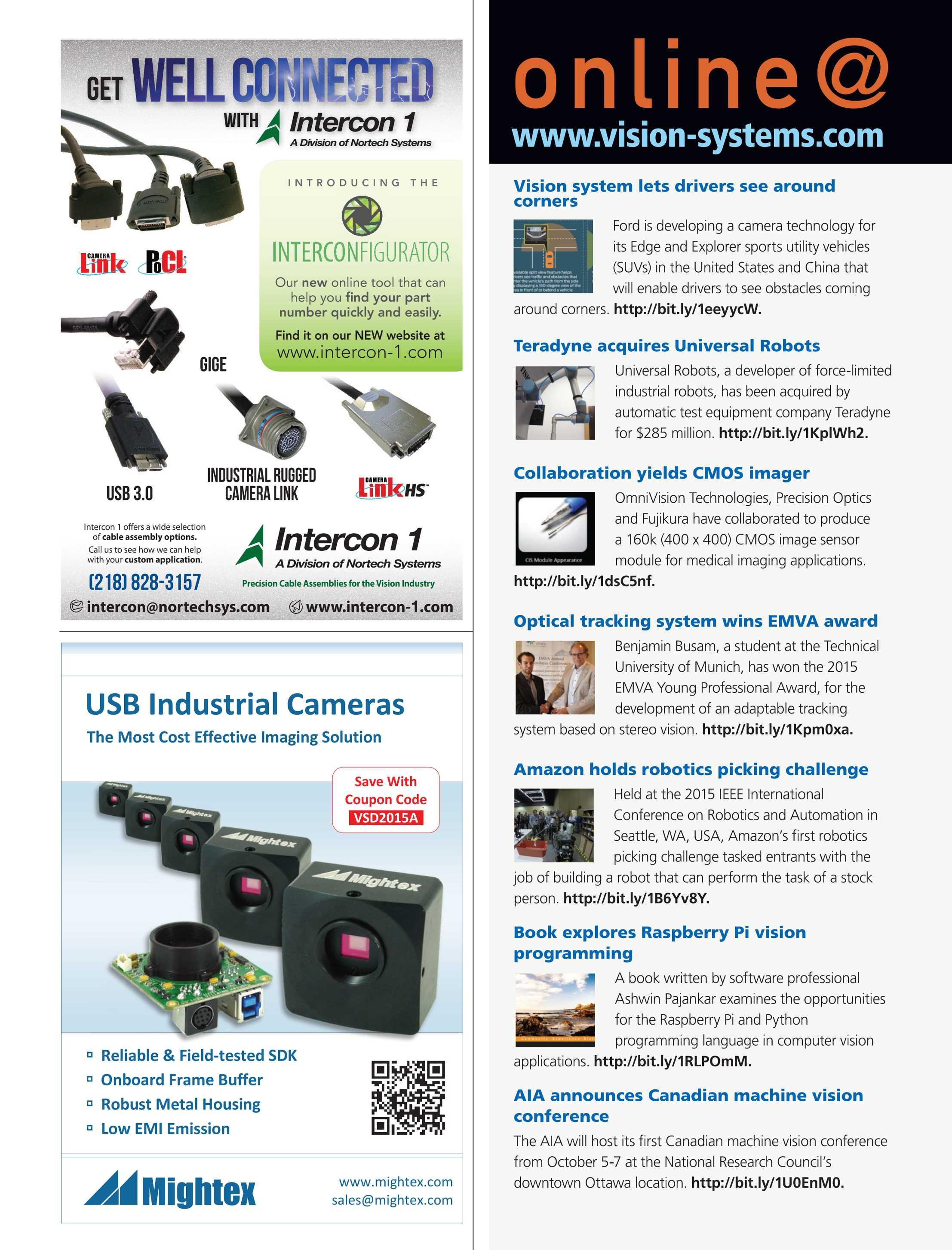 Vision Systems - July/August 2015 - page 4