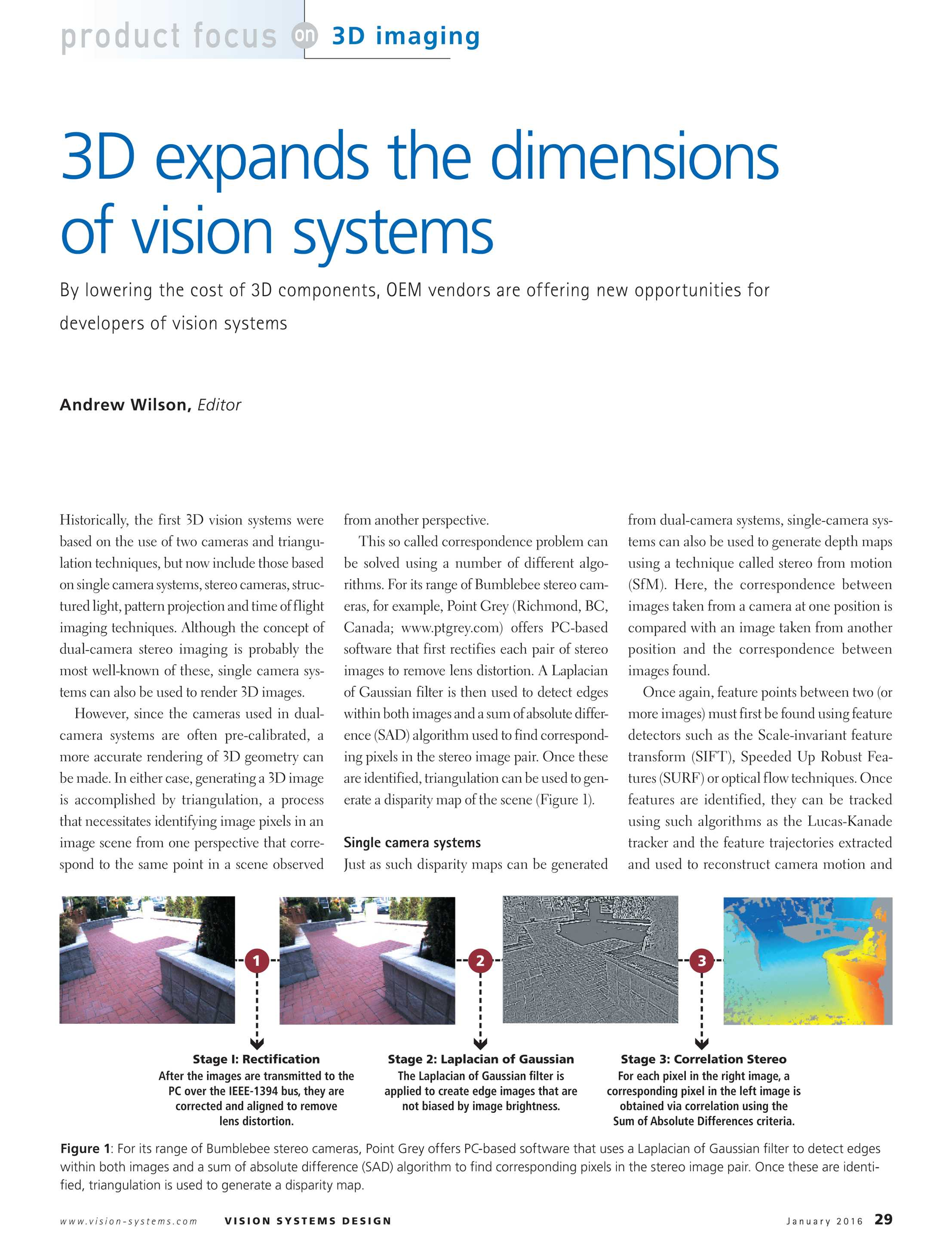 Vision Systems - January 2016 - page 29